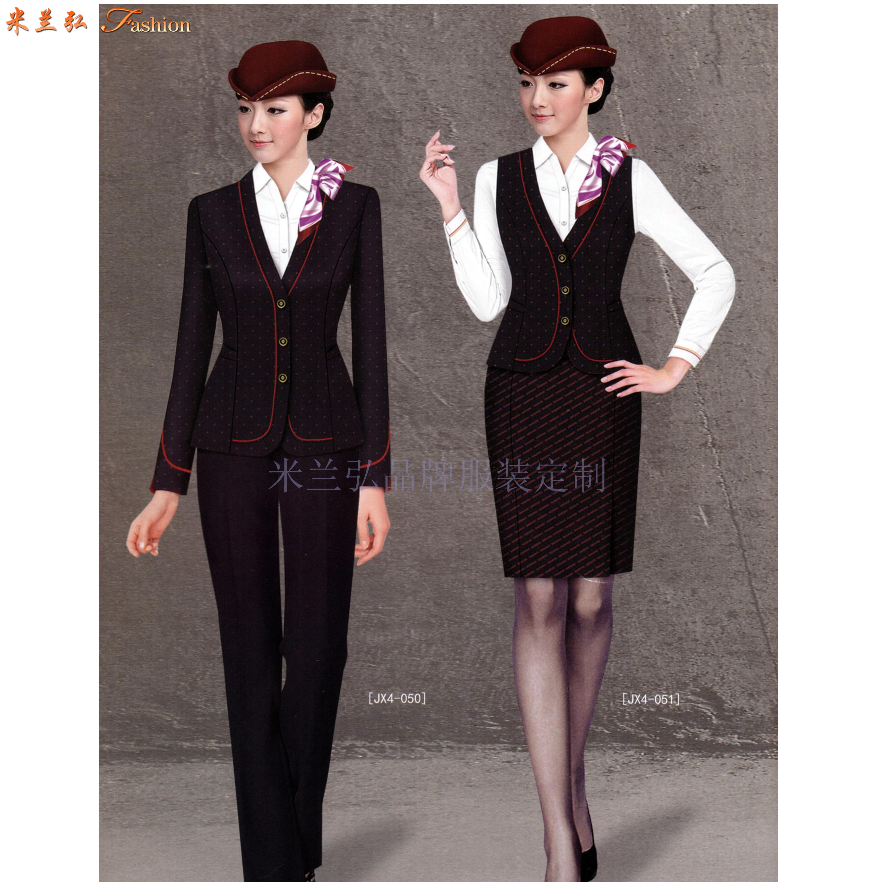 机场工作服-北京大兴国际机场地勤VIP、客服职业装量身定做-5