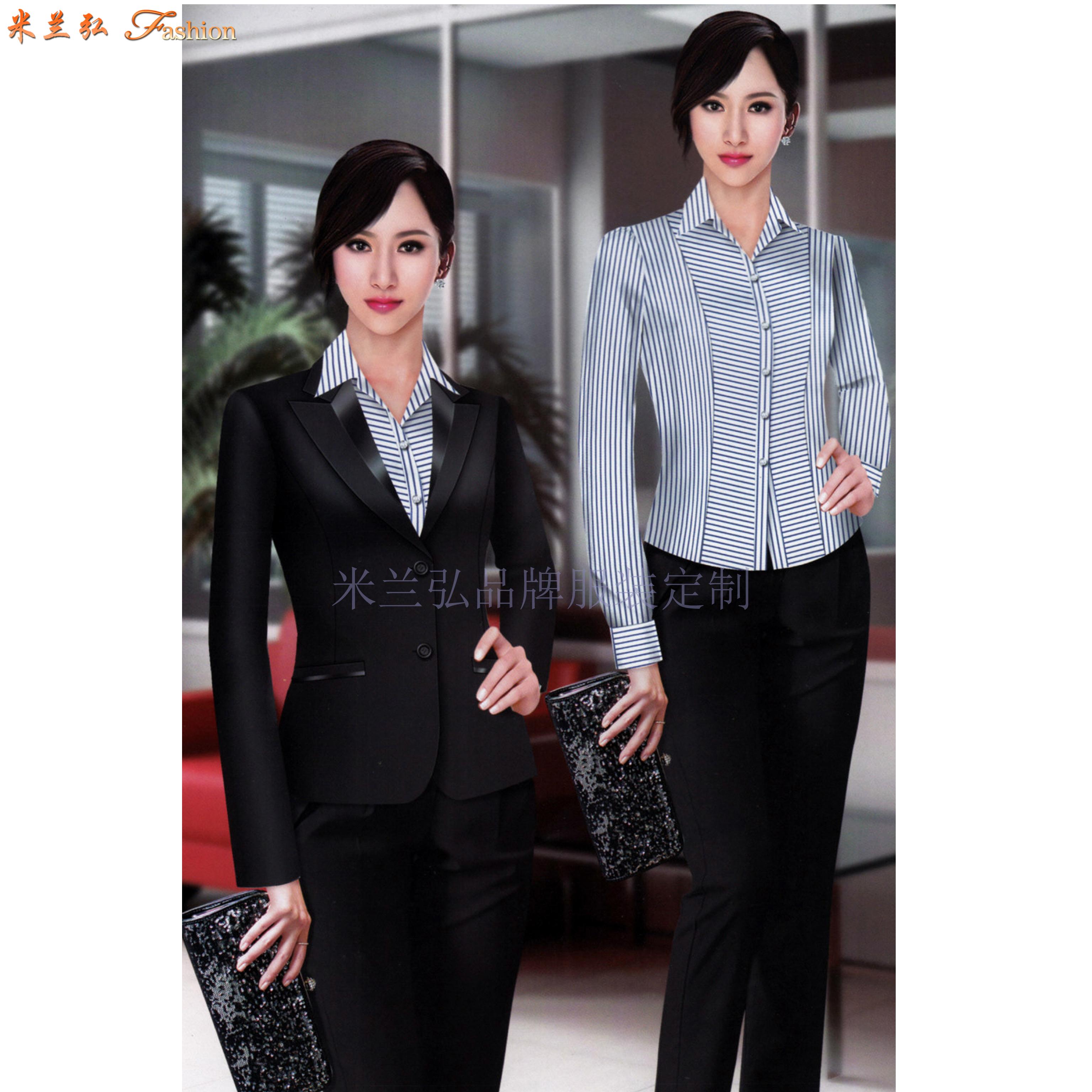 「修身女西服」采購批發市場優質女士西服價格品牌廠商_米蘭弘-3