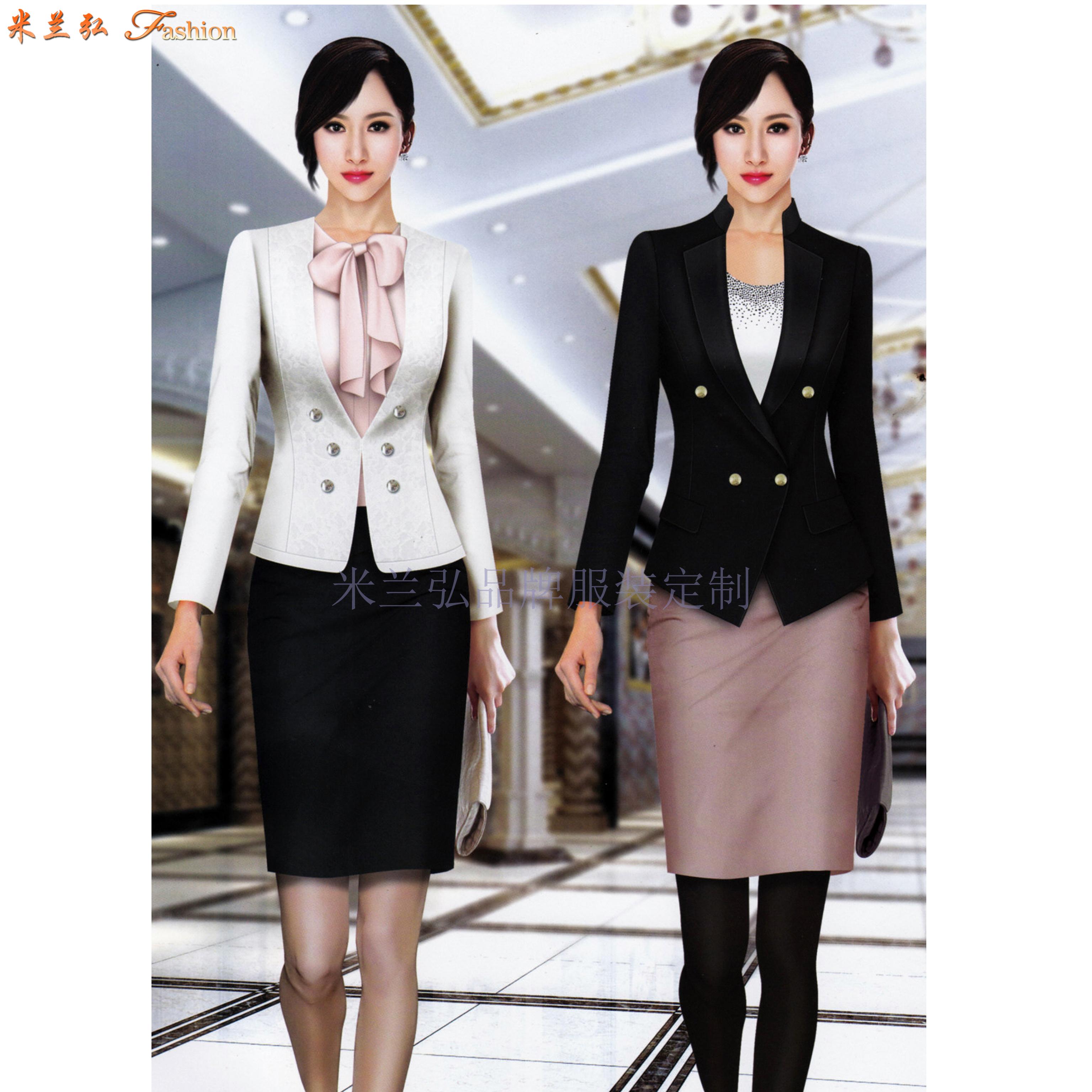 「修身女西服」采購批發市場優質女士西服價格品牌廠商_米蘭弘-5