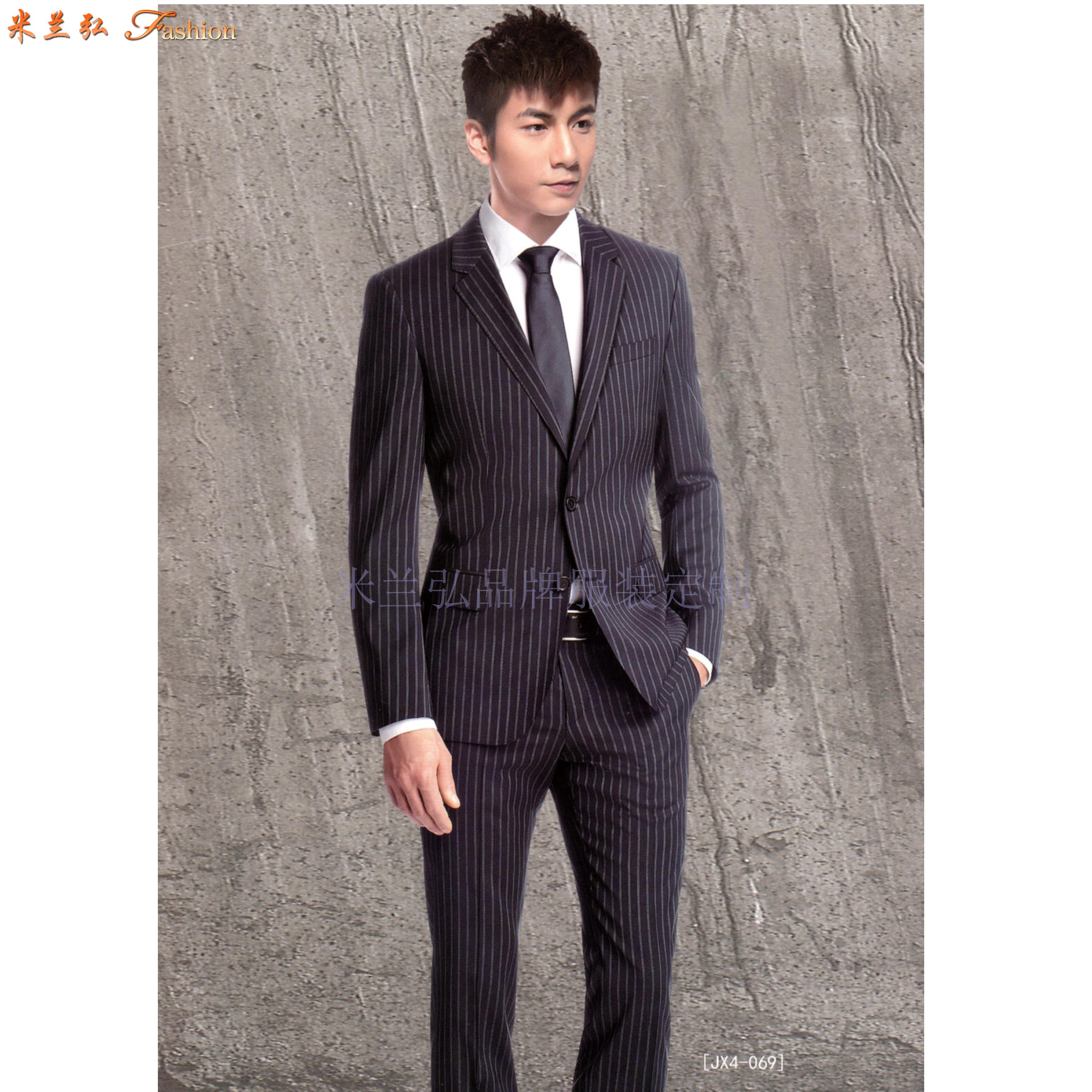 北京西服定制|图片_价格_参数_面料_尺寸_厂家-米兰弘服装-3
