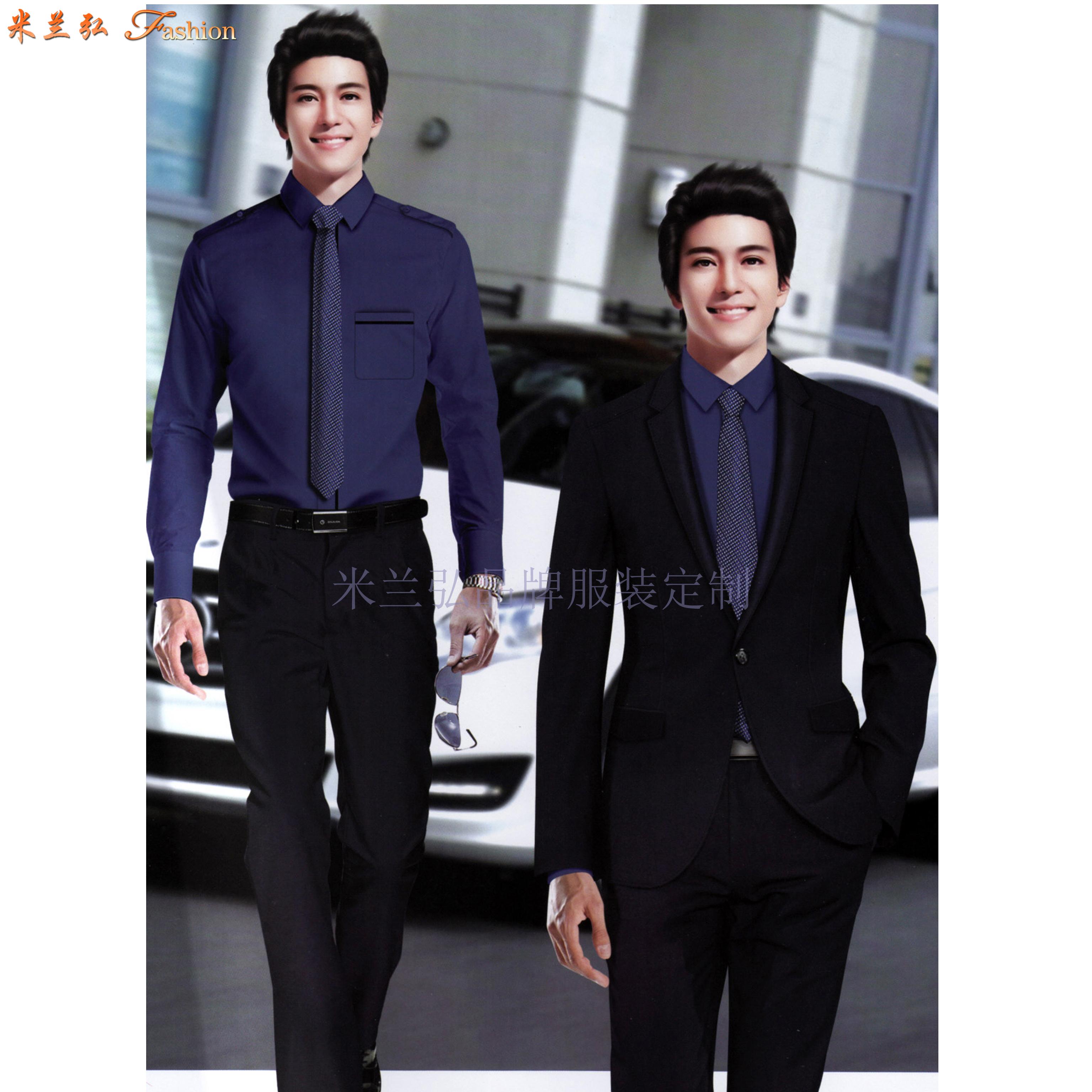 「北京西服定制圖片」男士西服搭配1外套1褲子-米蘭弘西服品牌-5