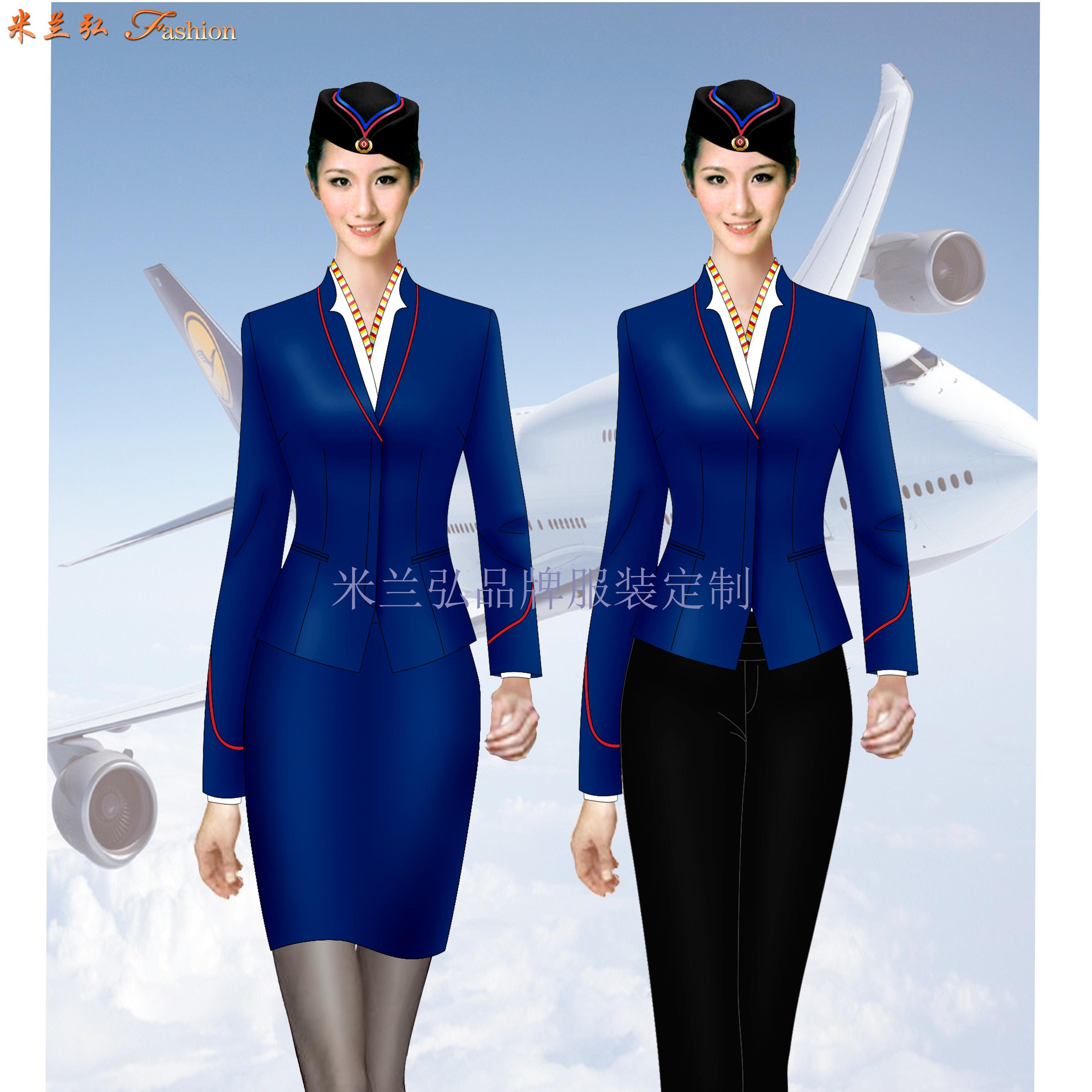 「北京空姐服定制」航空公司空姐服新款套裝圖片_價格_廠家-3