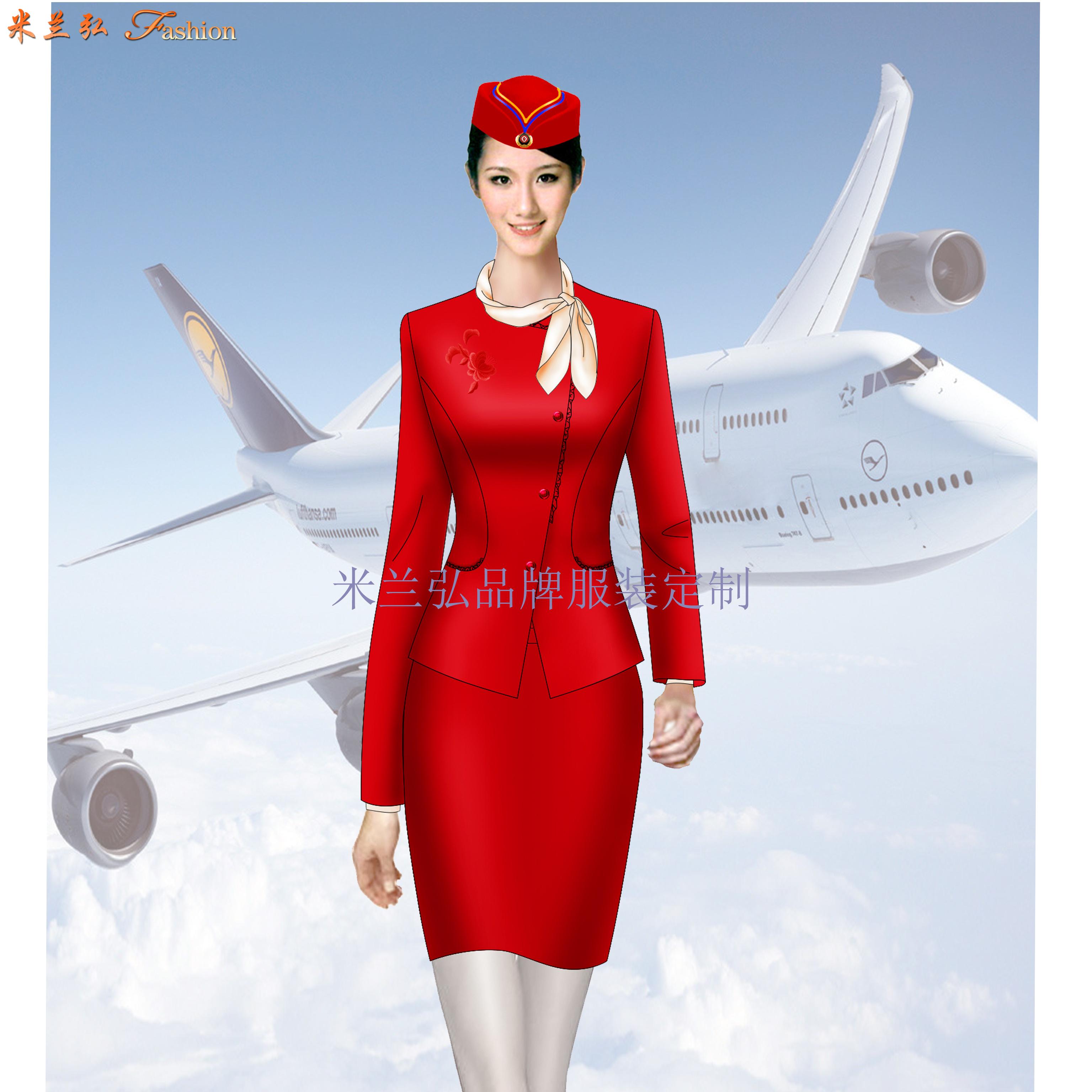 「北京空姐服定制」航空公司空姐服新款套装图片_价格_厂家-5