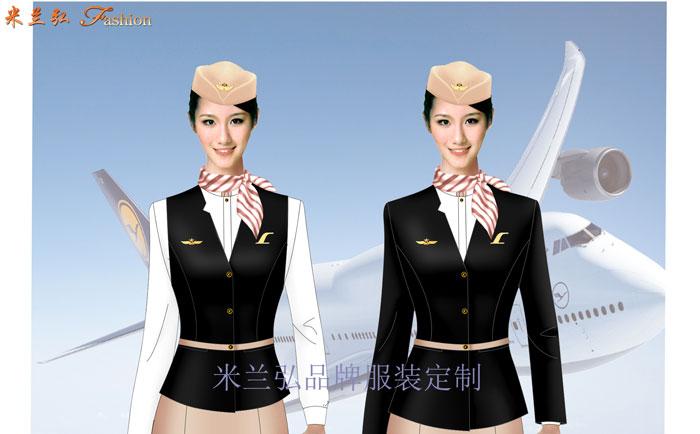 「北京空姐服定制」航空公司空姐服新款套裝圖片_價格_廠家-1