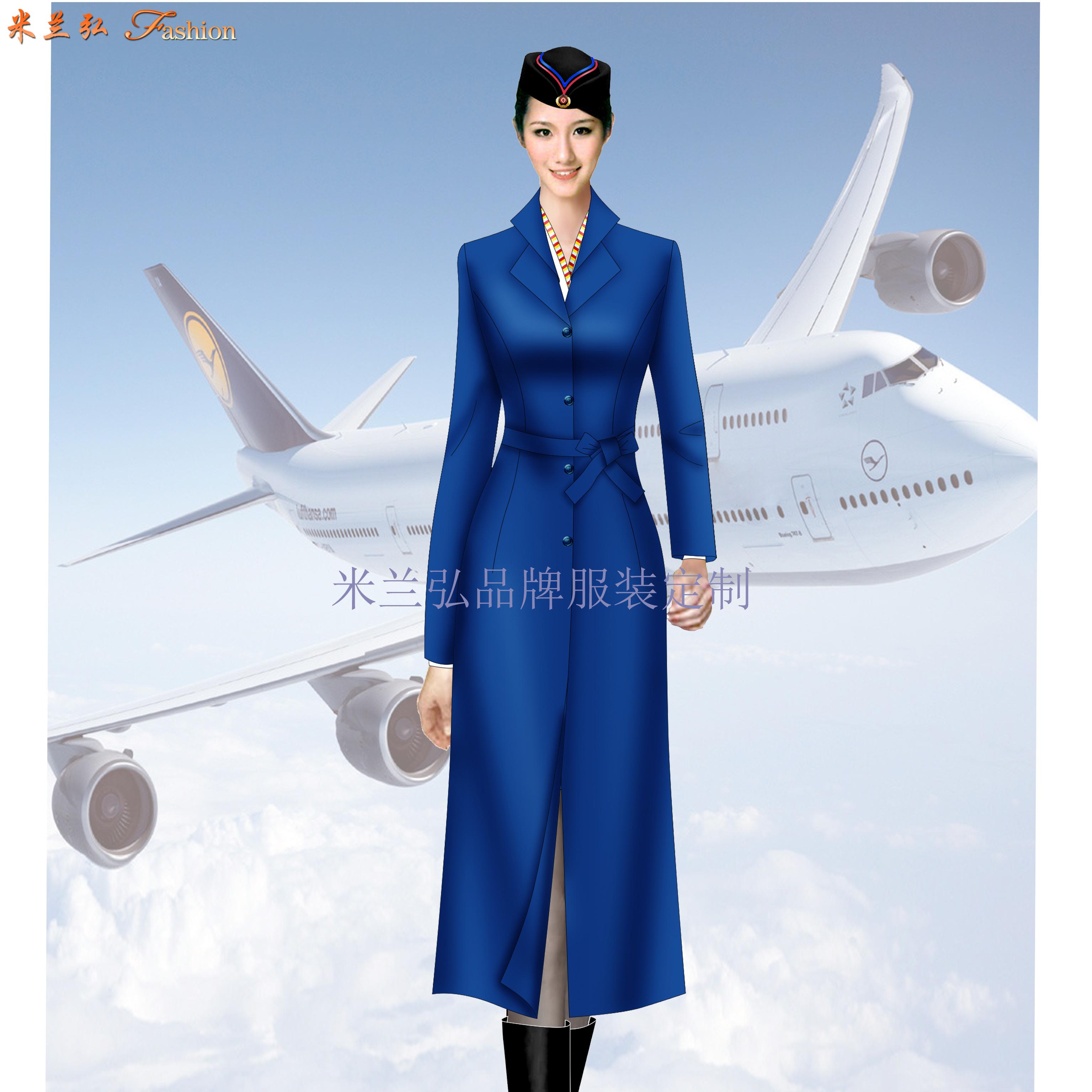 「北京空姐大衣訂制」選擇十年服裝生產經驗廠家-米蘭弘空姐服