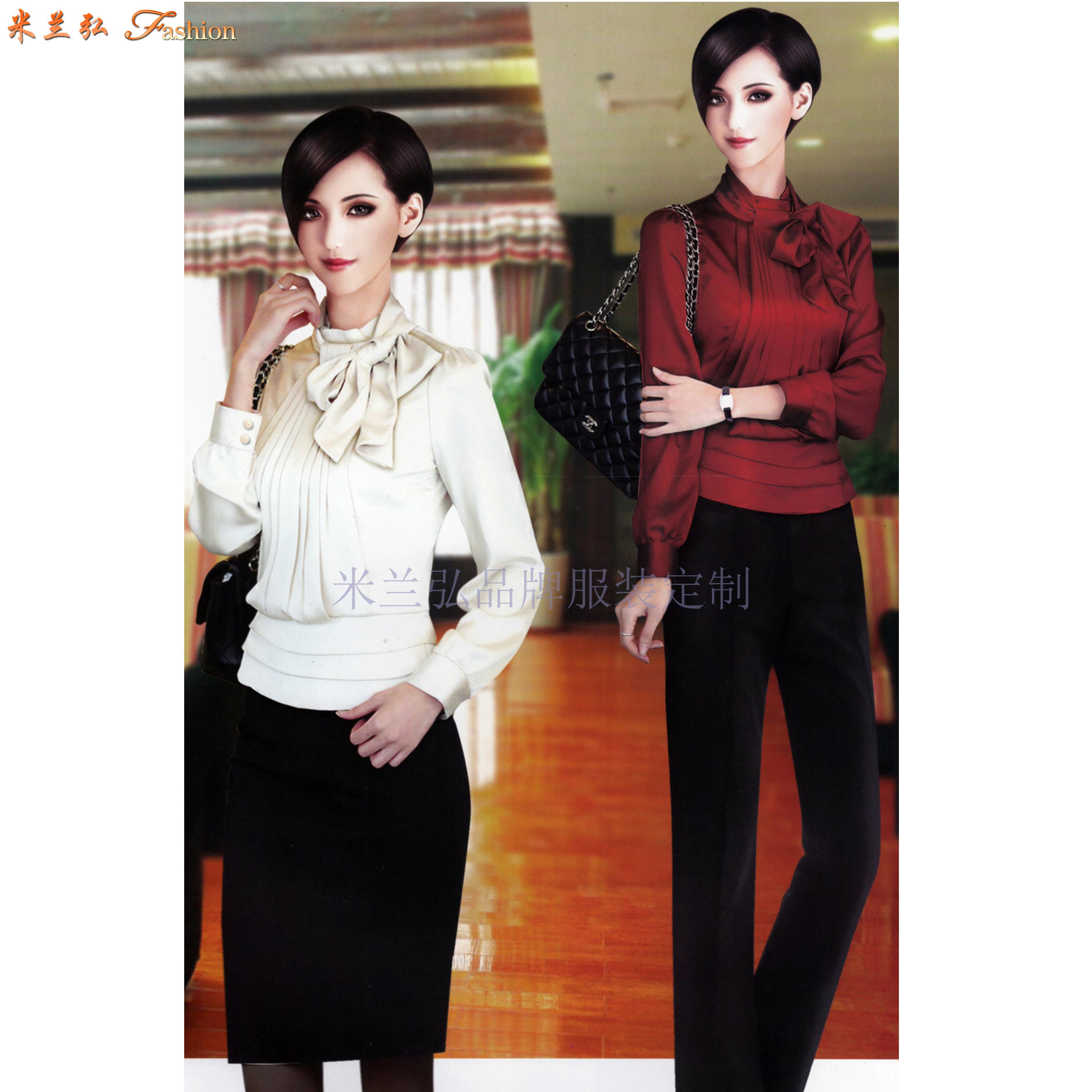 北京职业装定做|图片_价格_流程_面料_厂家-米兰弘服装-2