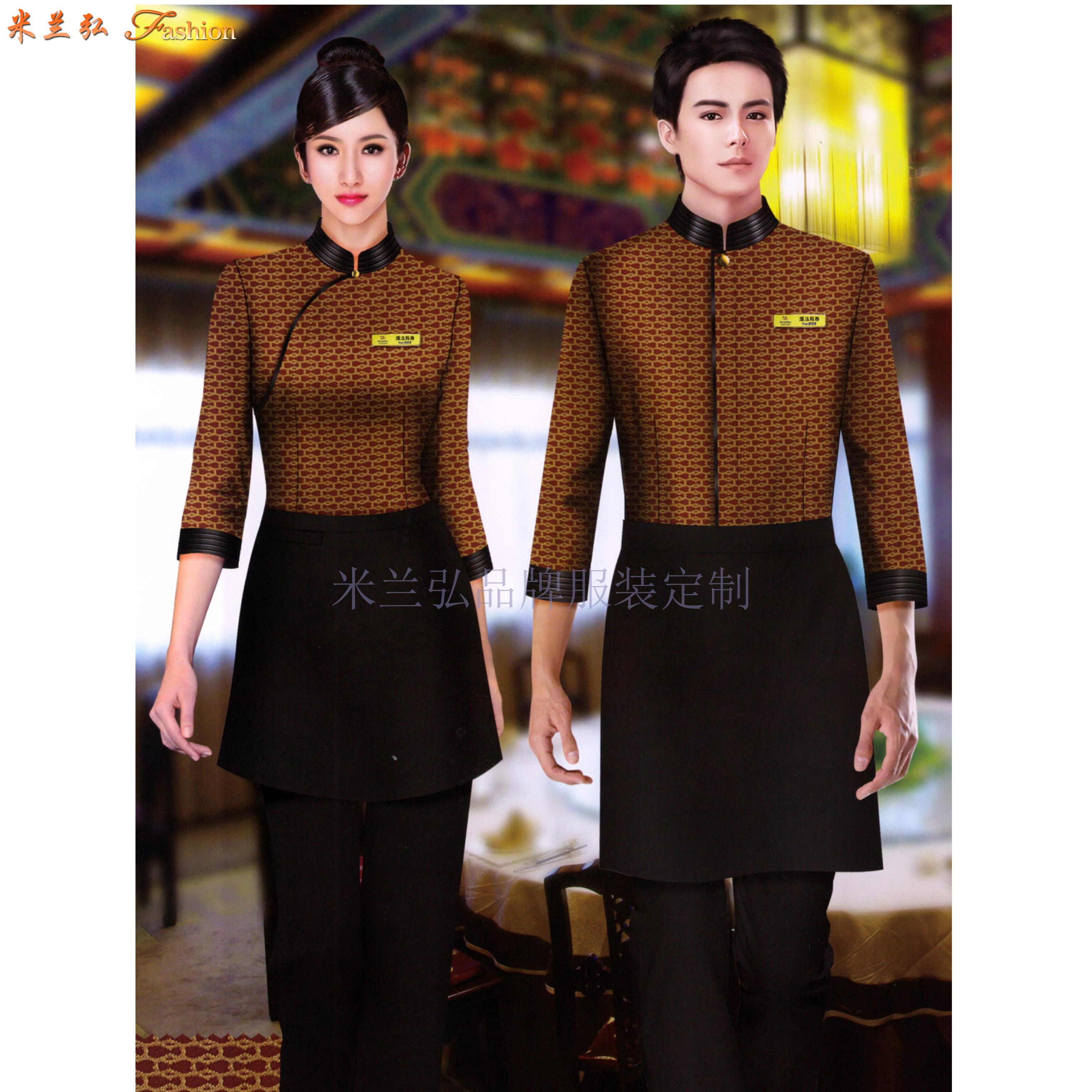 國際五星級酒店制服-Top米蘭弘服裝-2