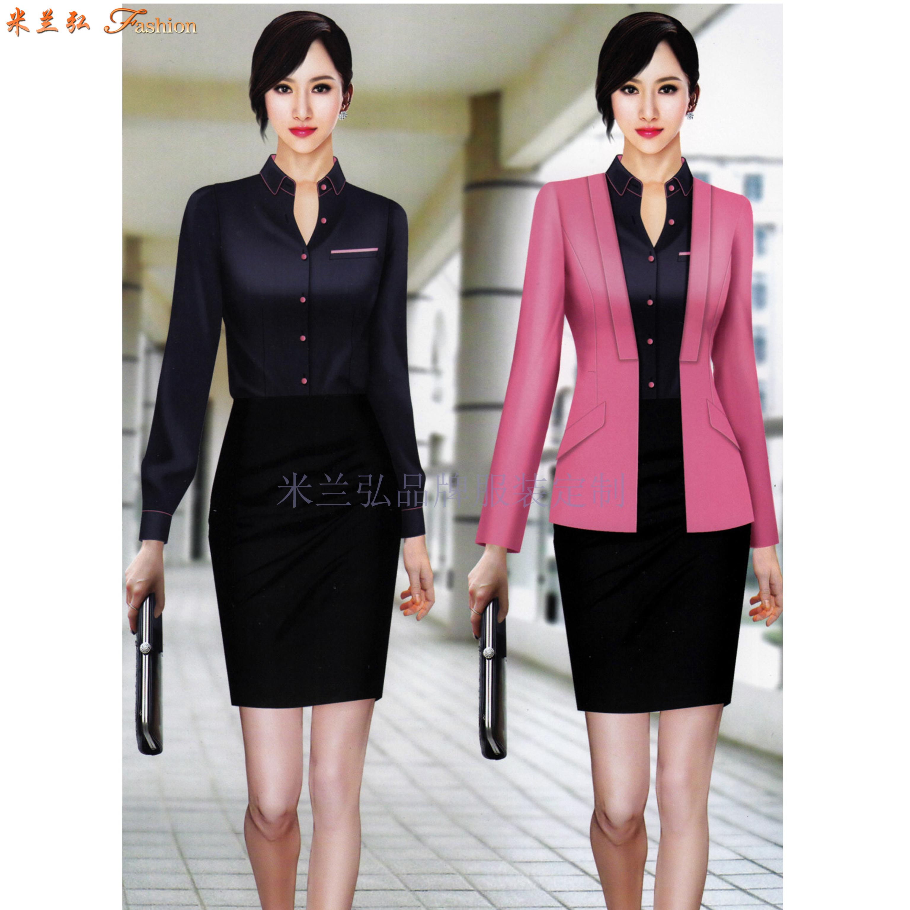 北京時尚職業裝訂制-通州城市副中心定做西服職業裝品牌-米蘭弘-2