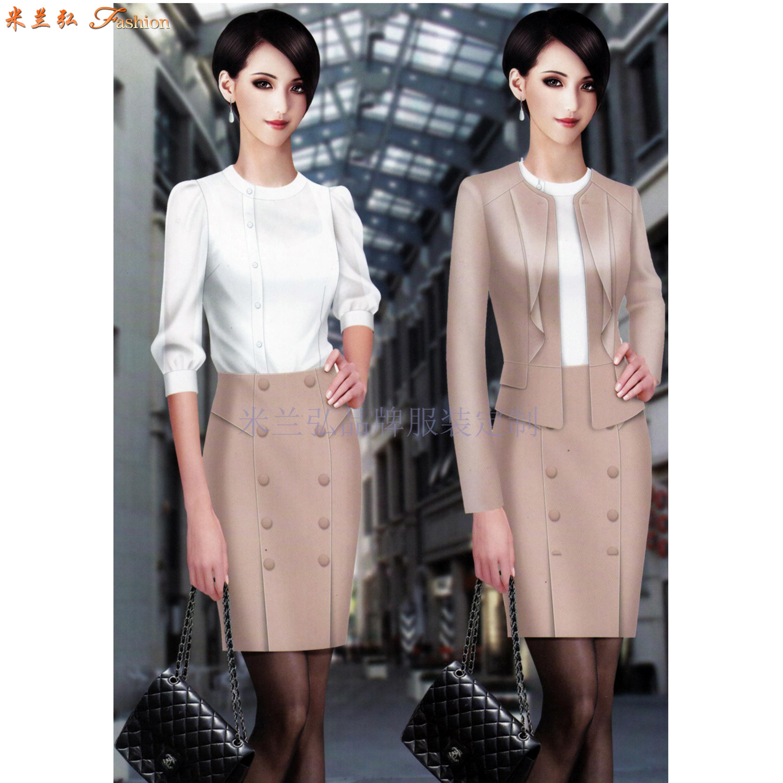 女職業裝套裝|美女搭配新款時尚職業小西服圖片-Top米蘭弘-5
