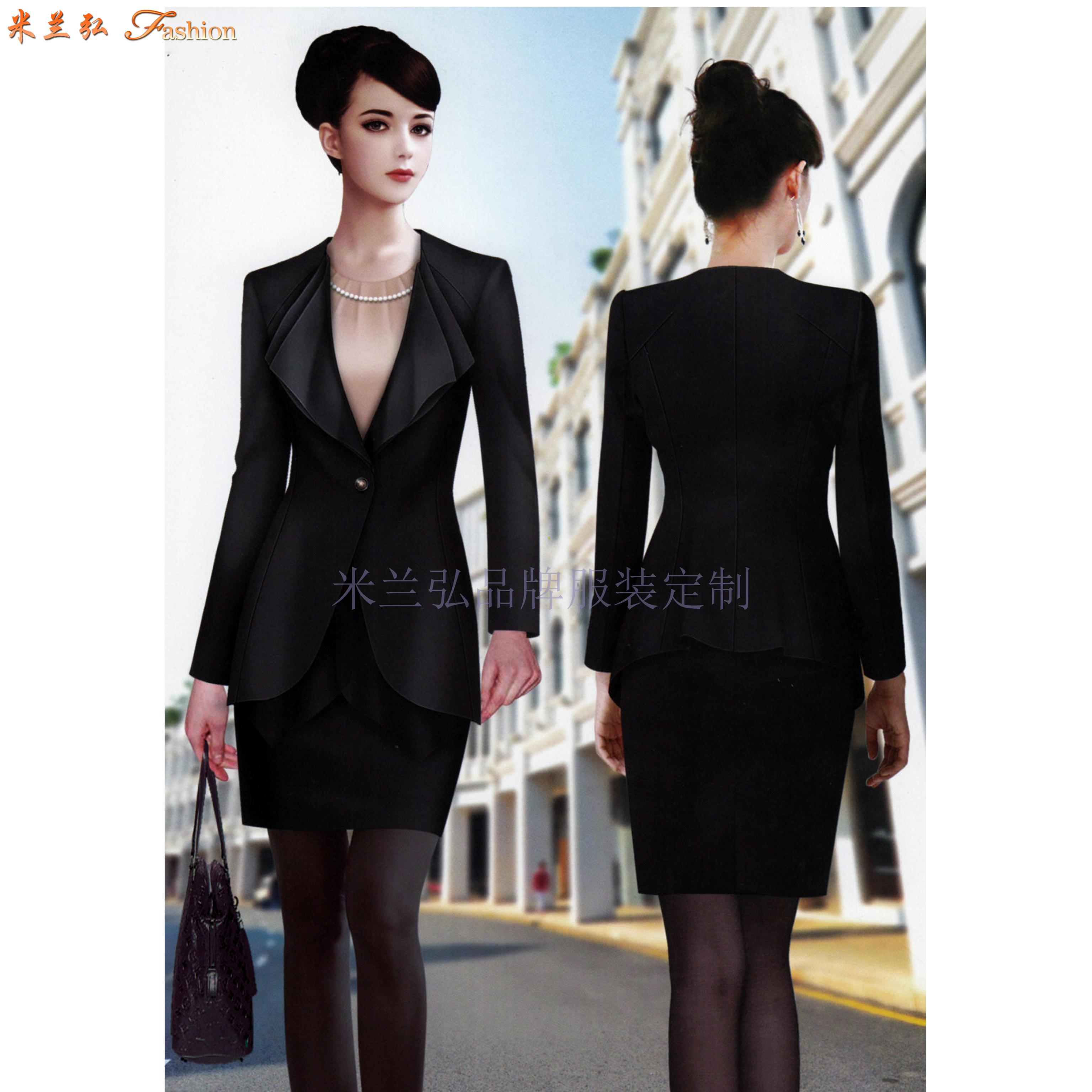 女職業裝套裝|美女搭配新款時尚職業小西服圖片-Top米蘭弘-6