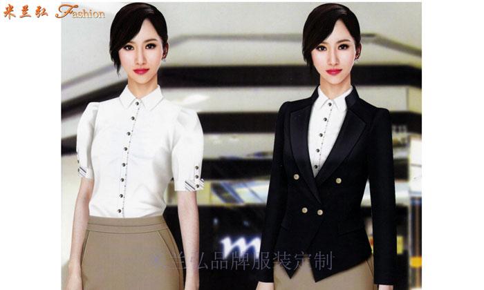 女職業裝套裝|美女搭配新款時尚職業小西服圖片-Top米蘭弘-1