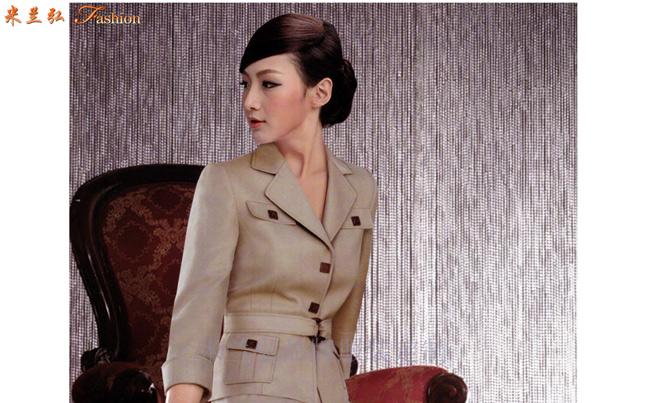 美女職業裝訂制_北京時尚職業服裝定做廠家-Top米蘭弘職業裝-2