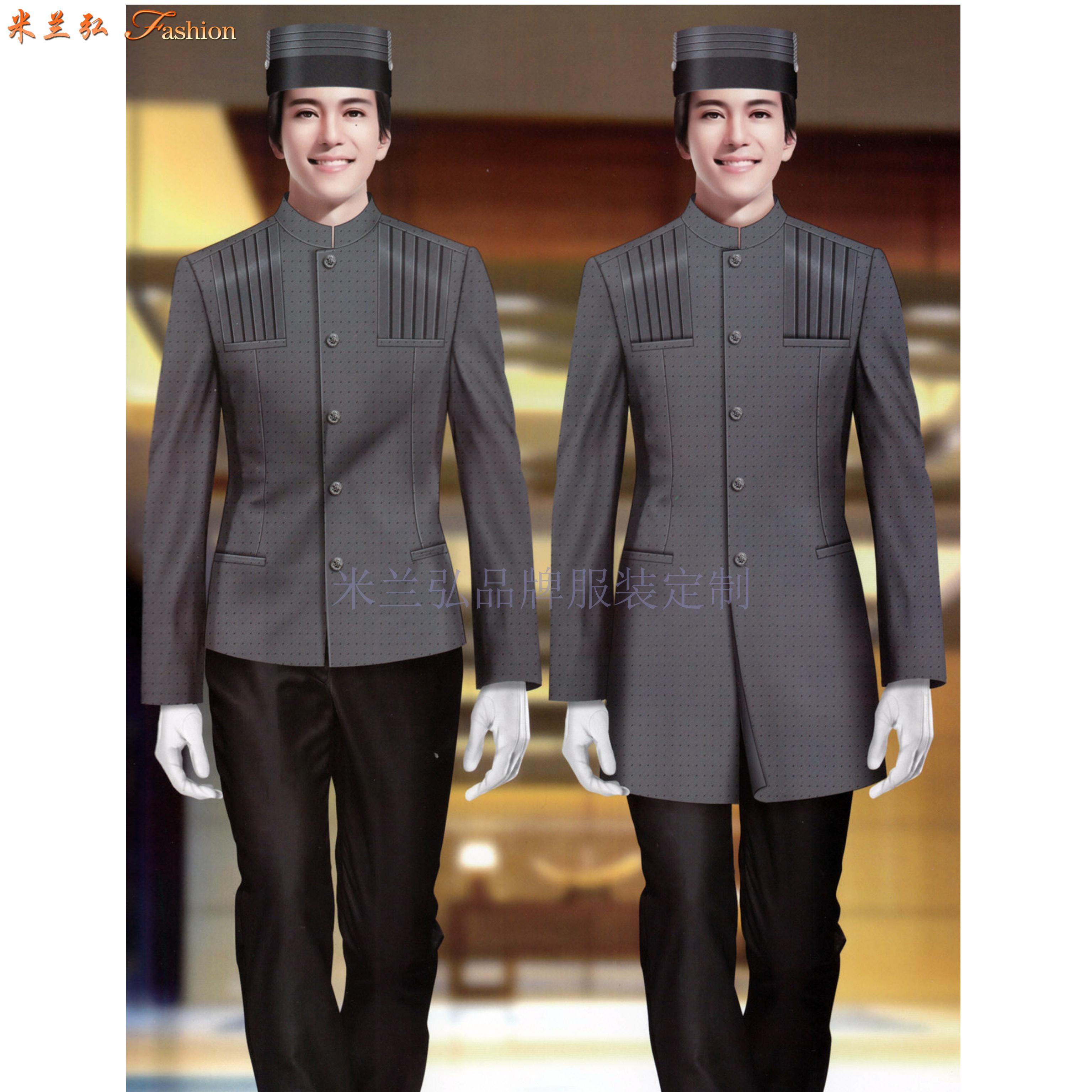酒店工作服定做|廊坊賓館工裝定制廠家-——Top米蘭弘工服-4