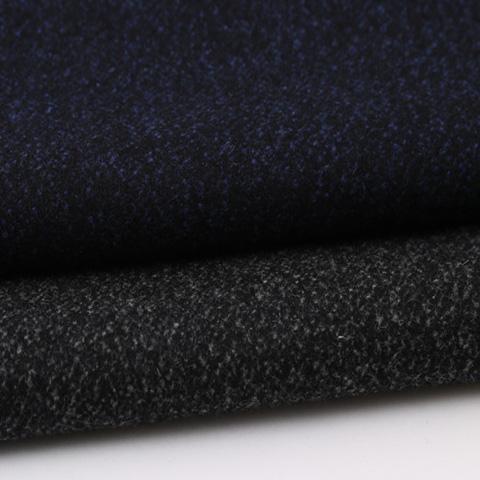純羊毛粗紡面料1