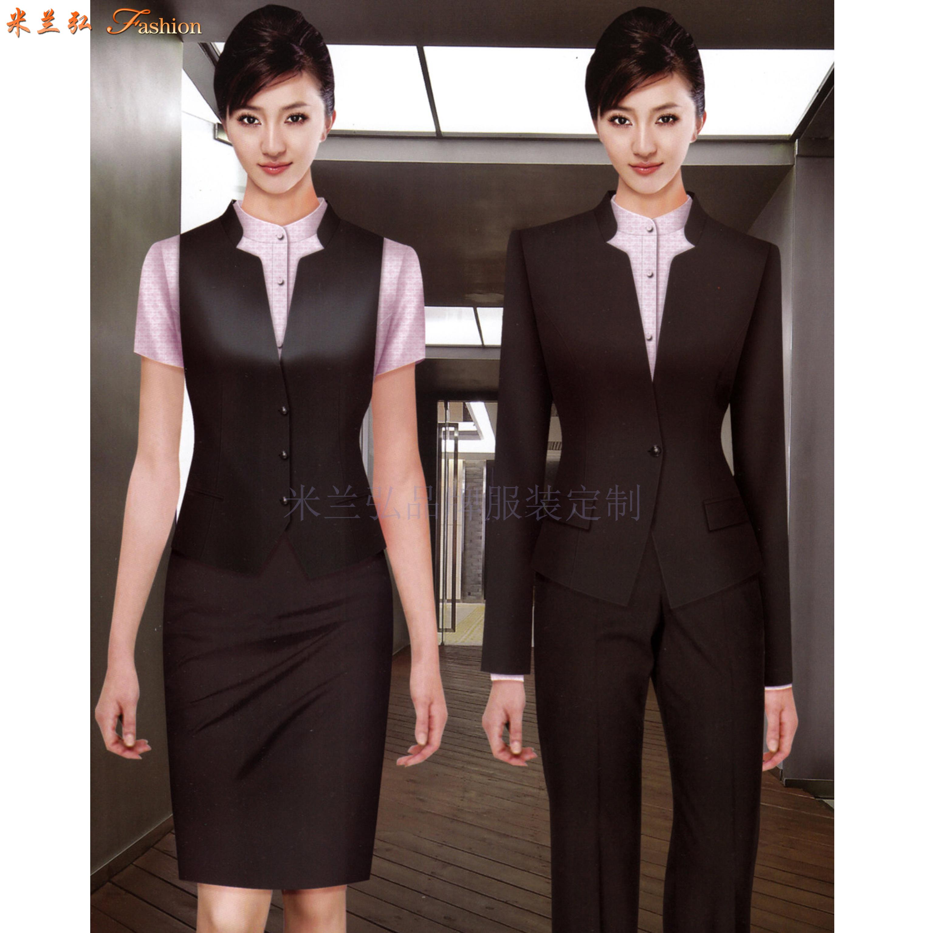 京津冀公司職業裝定制-選擇潮流時尚的正裝職業裝公司-米蘭弘-1