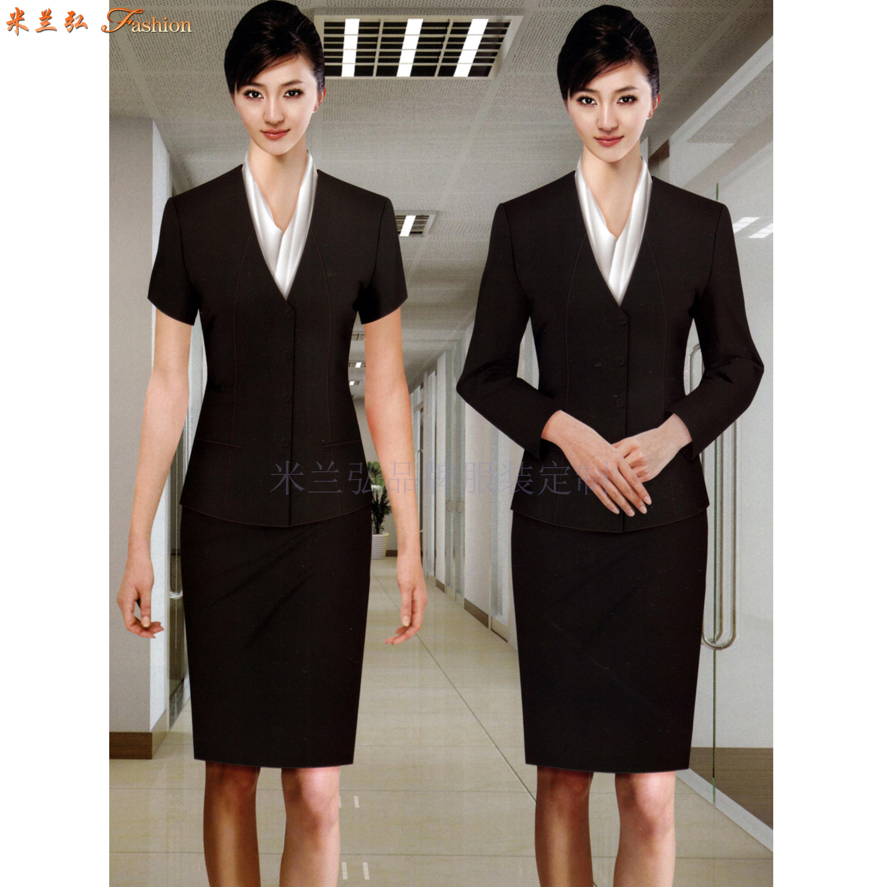 京津冀公司職業裝定制-選擇潮流時尚的正裝職業裝公司-米蘭弘-3