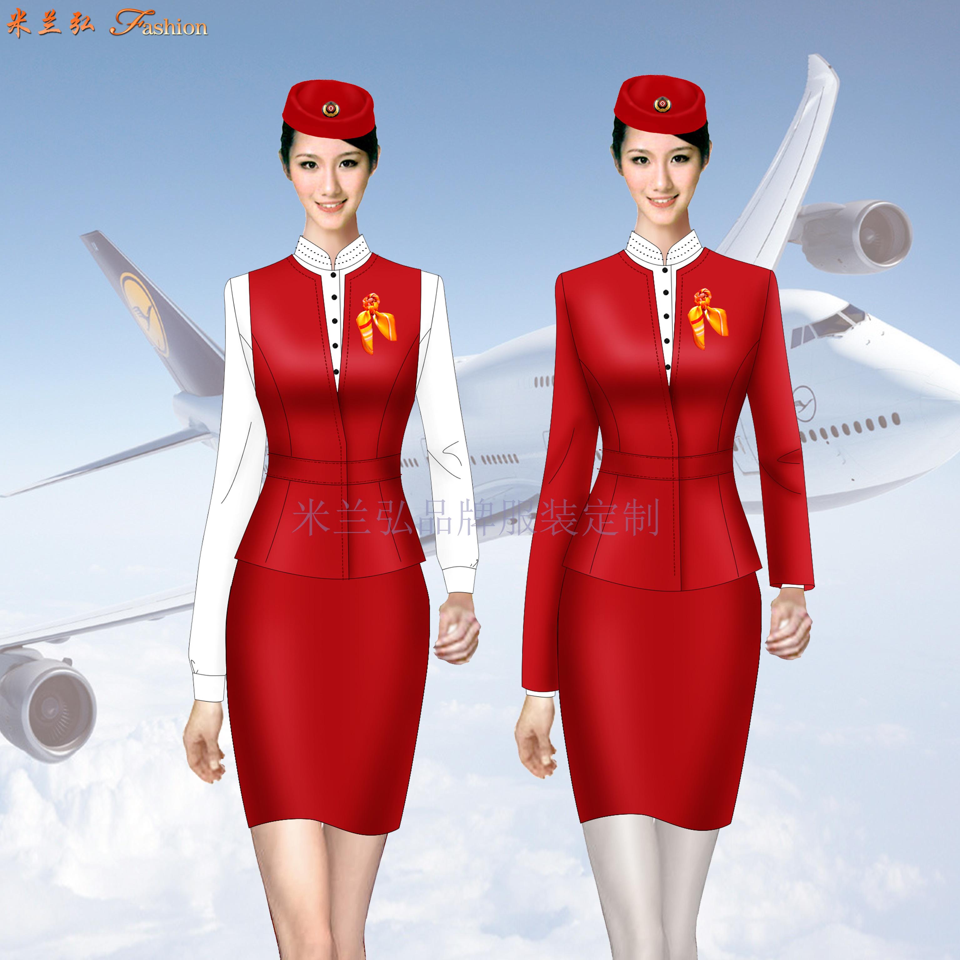 京津冀高鐵動車乘務制服定做-選擇款式時髦的服裝品牌-米蘭弘-2