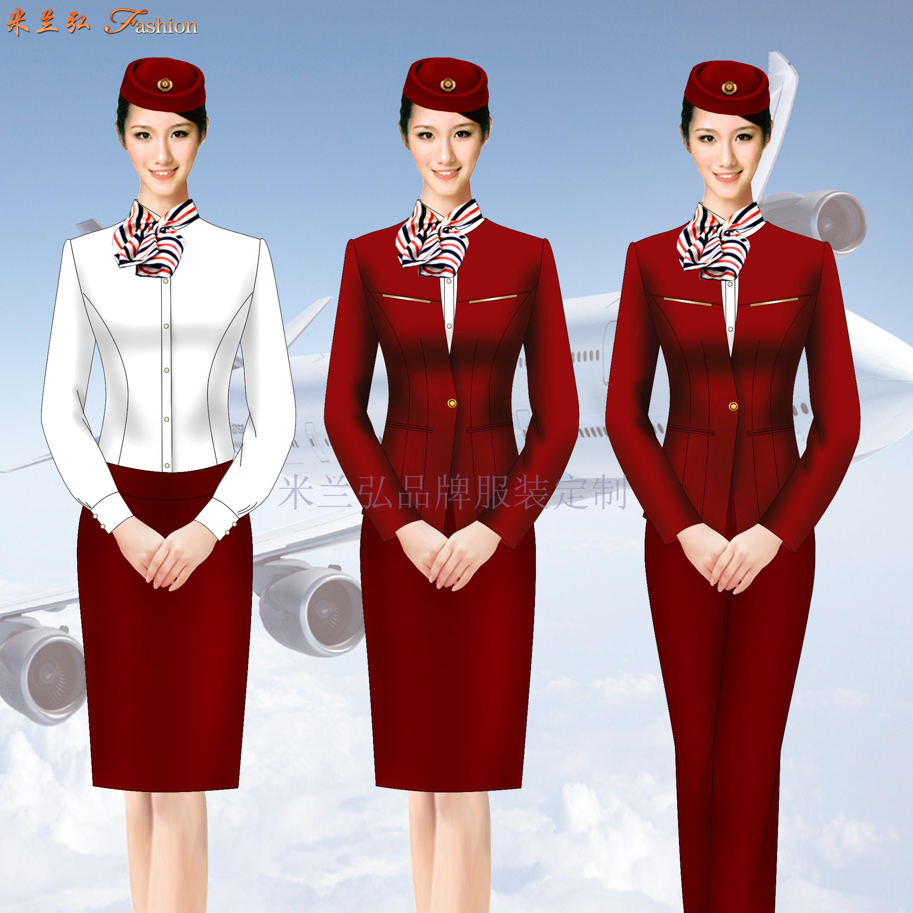 京津冀高鐵動車乘務制服定做-選擇款式時髦的服裝品牌-米蘭弘-3