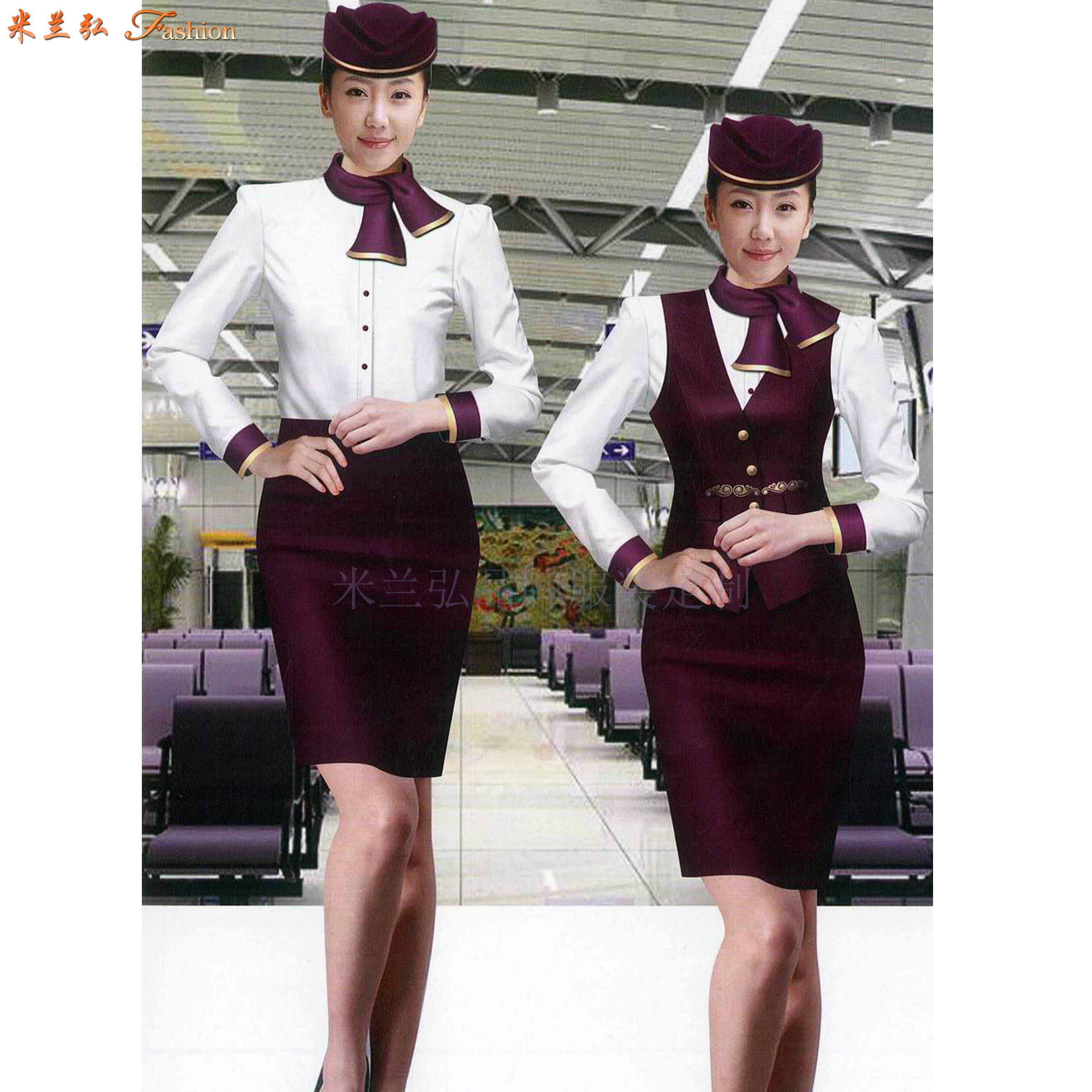 京津冀高鐵動車乘務制服定做-選擇款式時髦的服裝品牌-米蘭弘-5