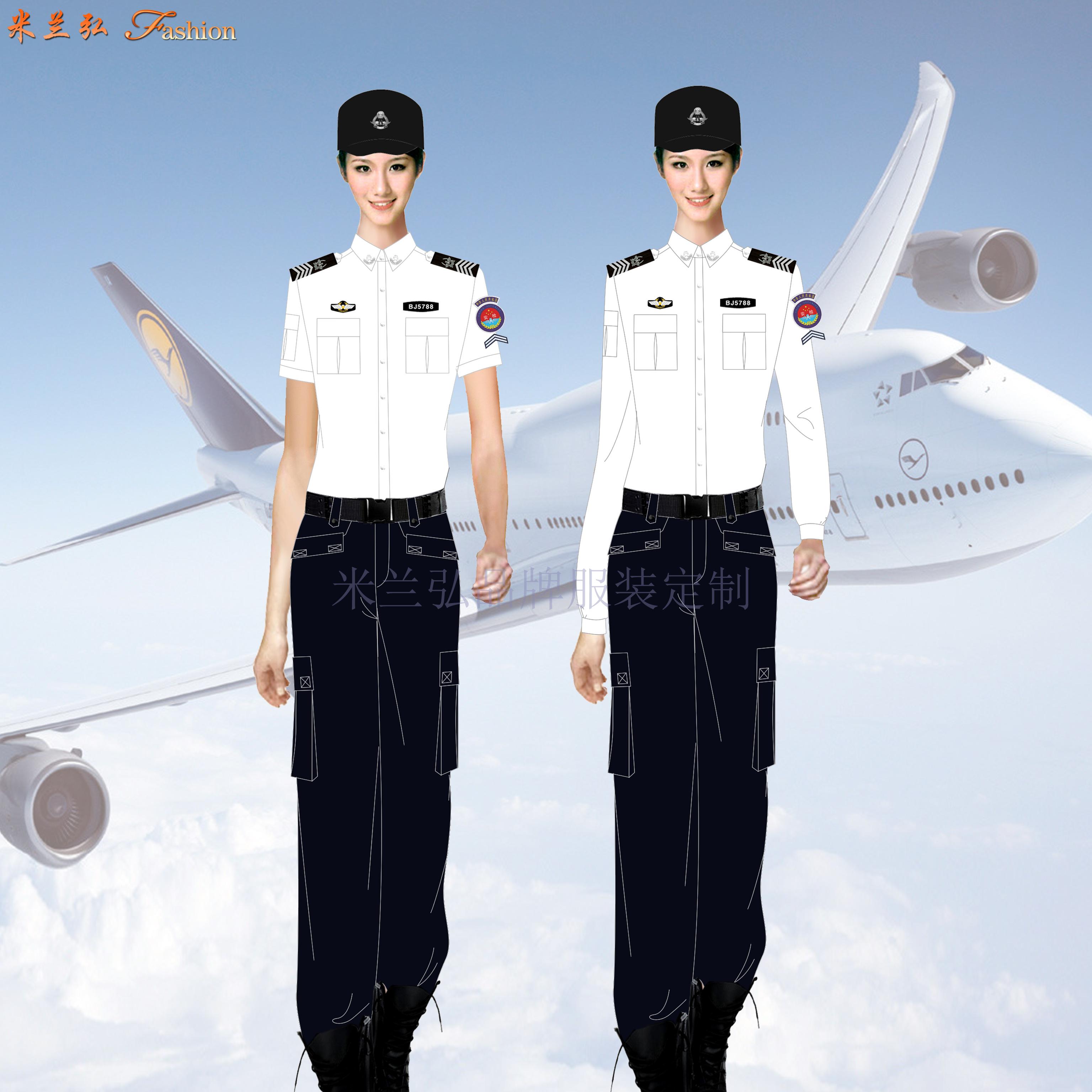 「機場10CA式安檢服定制」圖片_價格_面料_方法_廠家-4