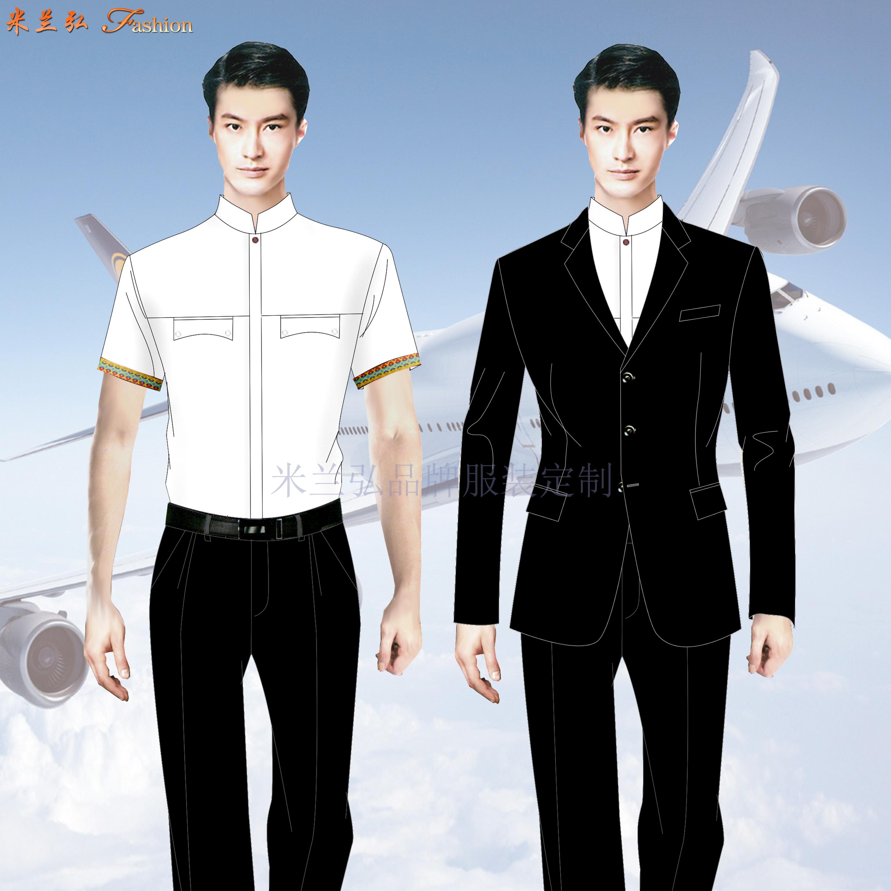 高等院校空乘服定制_高职学校空姐服定做_成人学校空姐服订做👍-1
