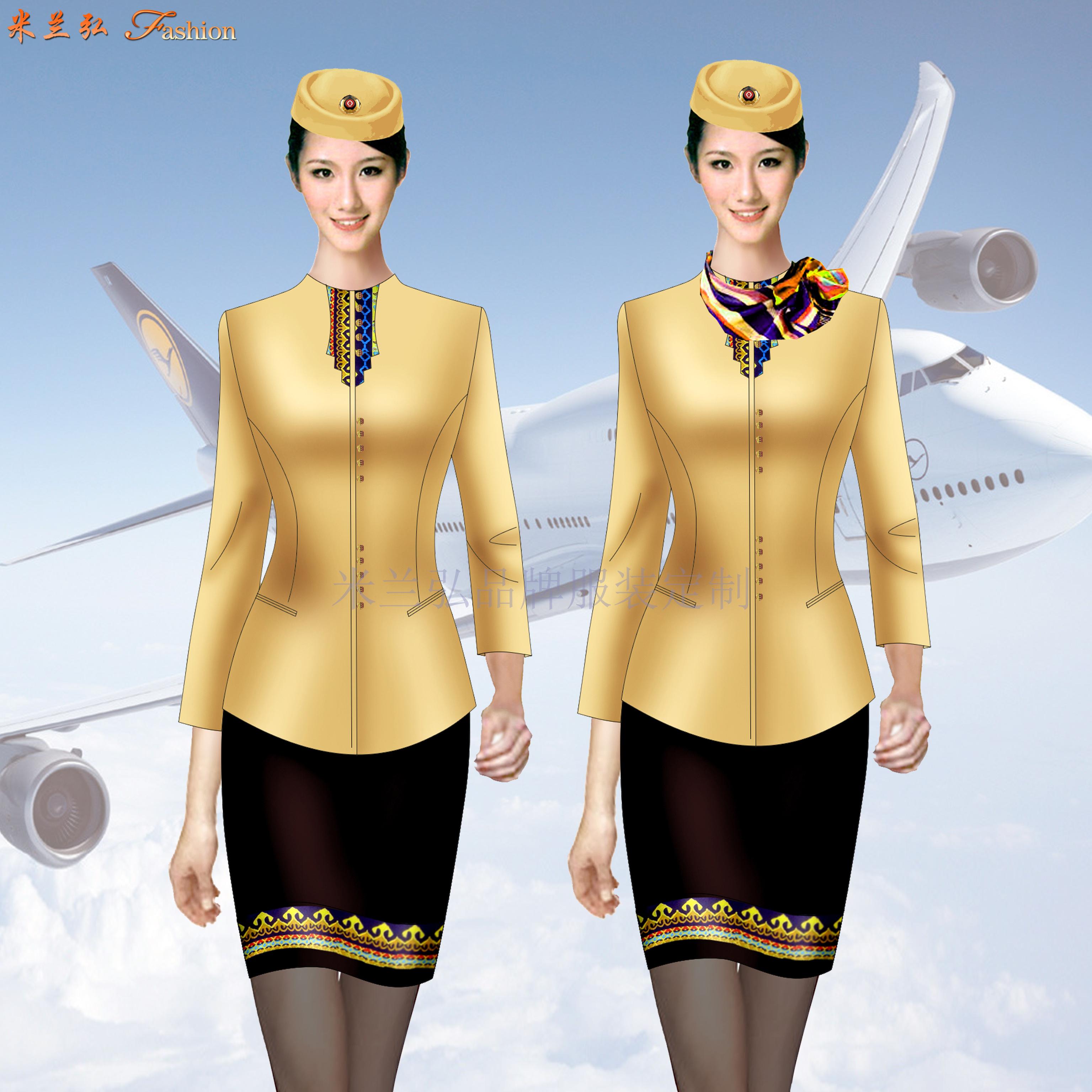 高等院校空乘服定制_高职学校空姐服定做_成人学校空姐服订做👍-5
