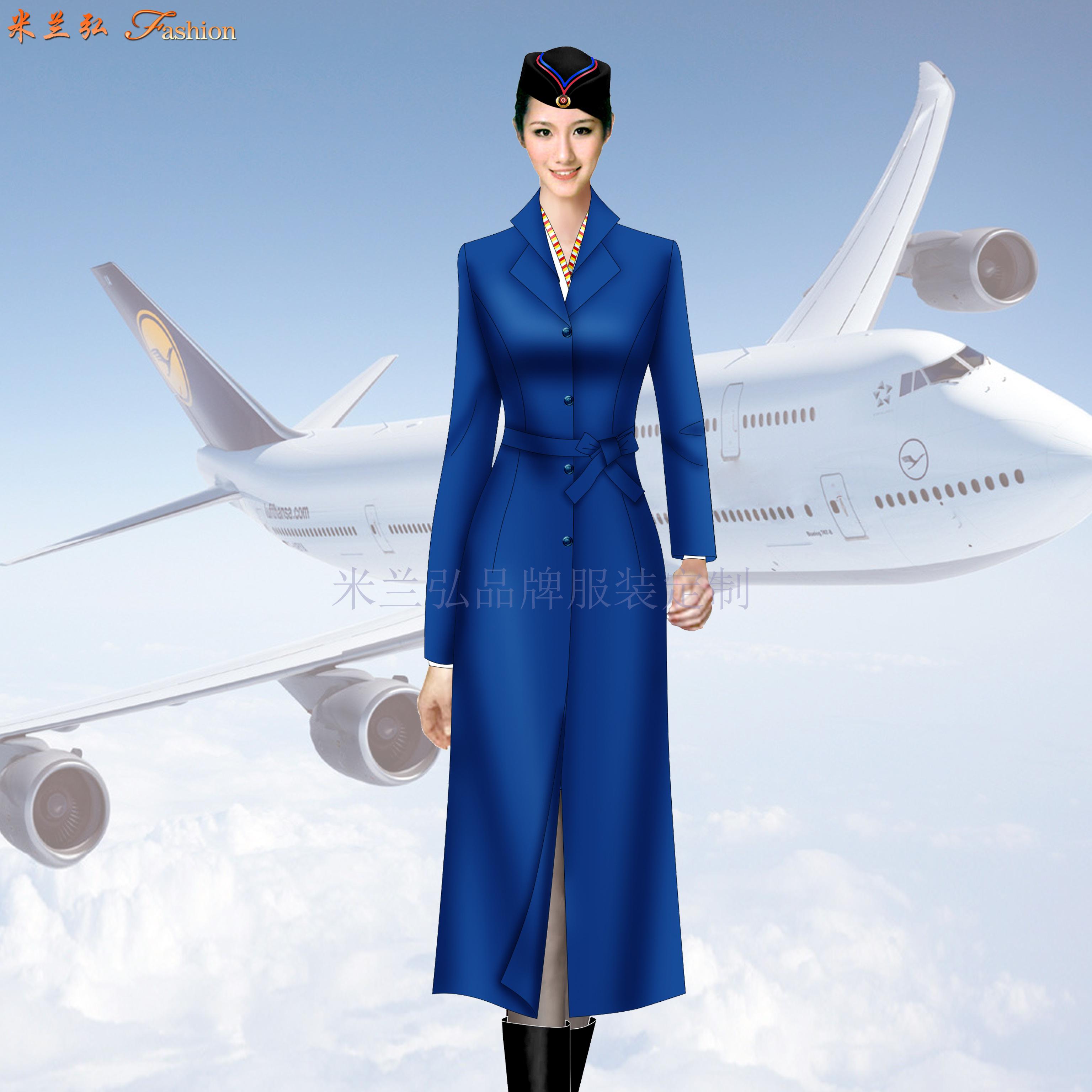 航空公司机长大衣定做_空姐服大衣定制_飞机空乘服大衣订制-2