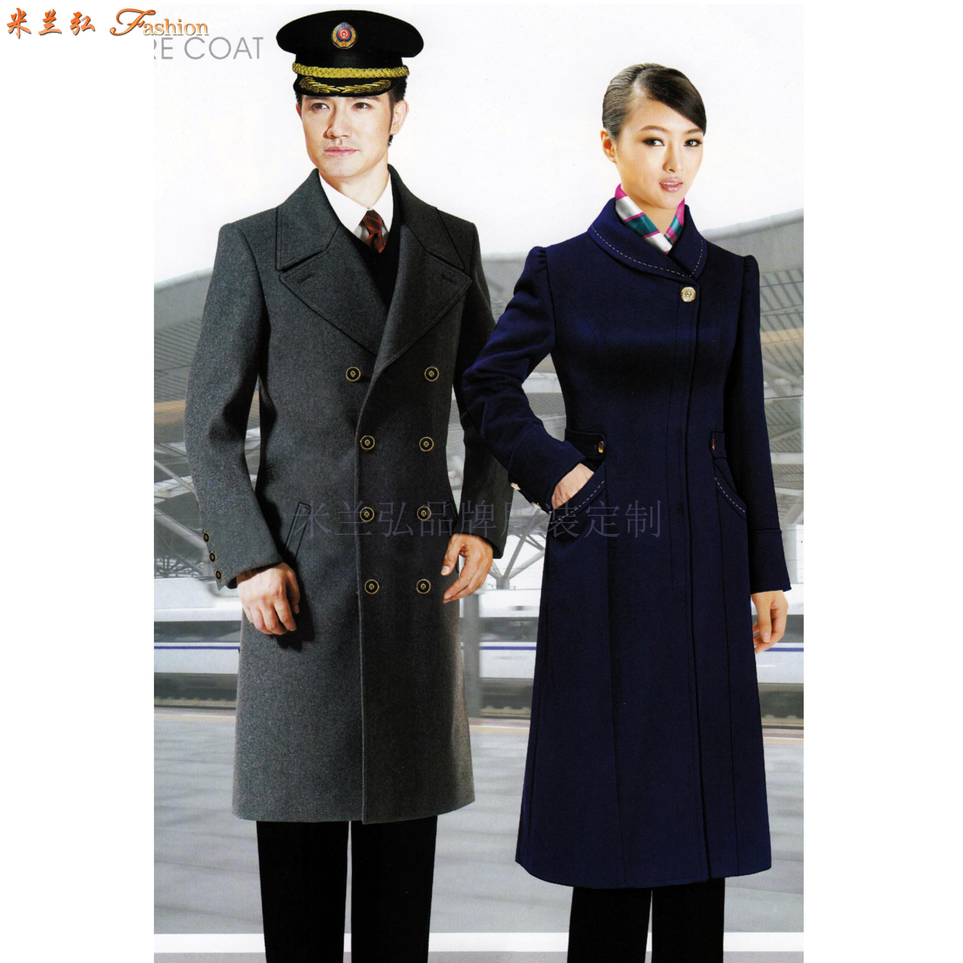 航空公司机长大衣定做_空姐服大衣定制_飞机空乘服大衣订制-5