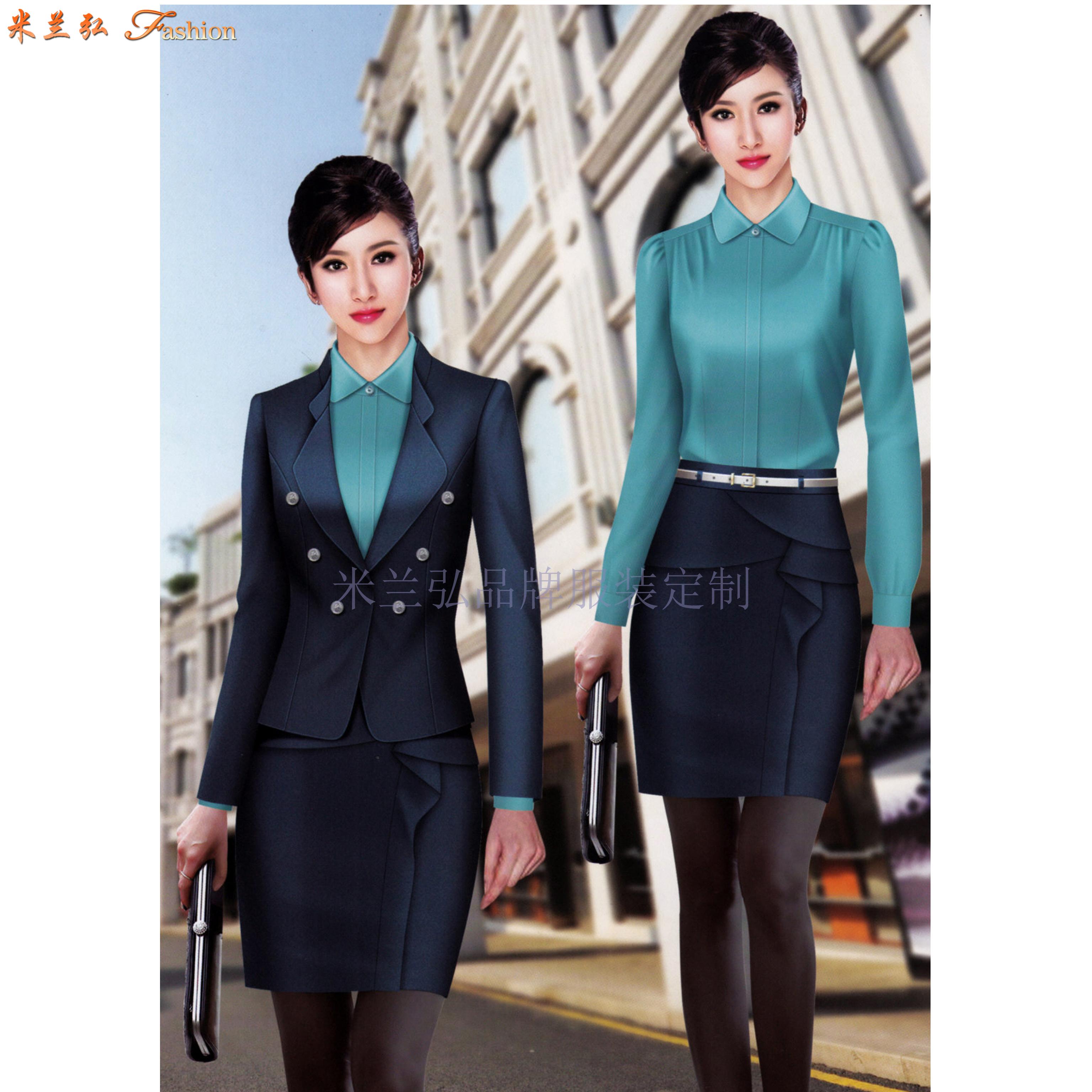 北京女士職業裝定制及北京時尚職業裝定做_北京通勤職業裝訂制-4