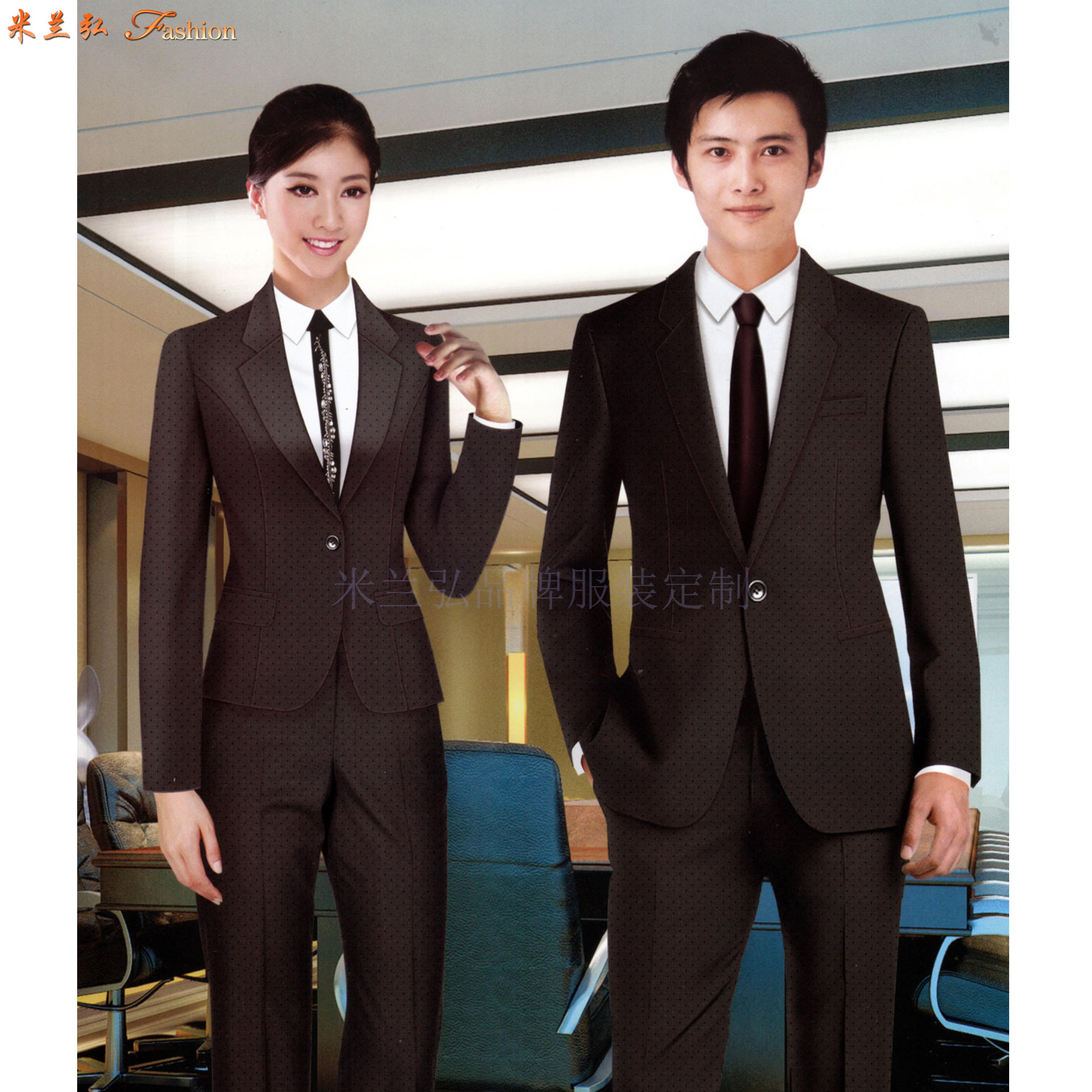 「大连定制商务西装定做品牌西服」订做正装西服厂家米兰弘👍-2