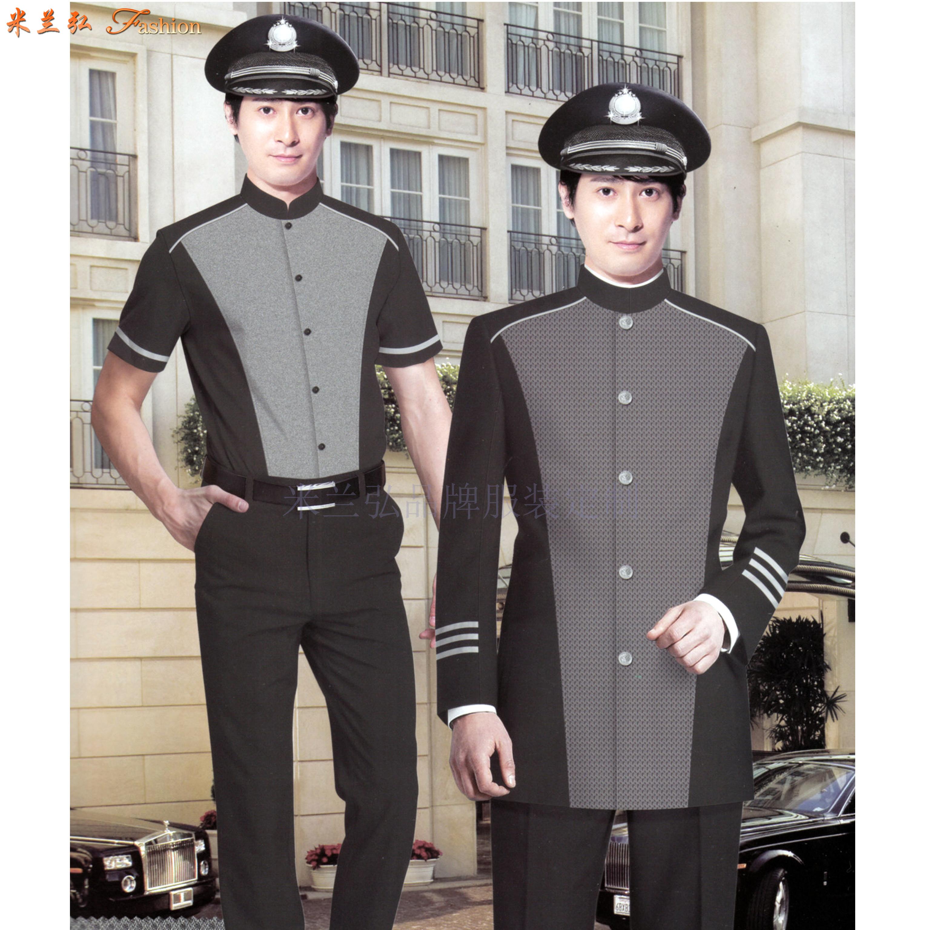 青島酒店制服定制_平度市酒店工服訂制_萊西市酒店服裝定做-4