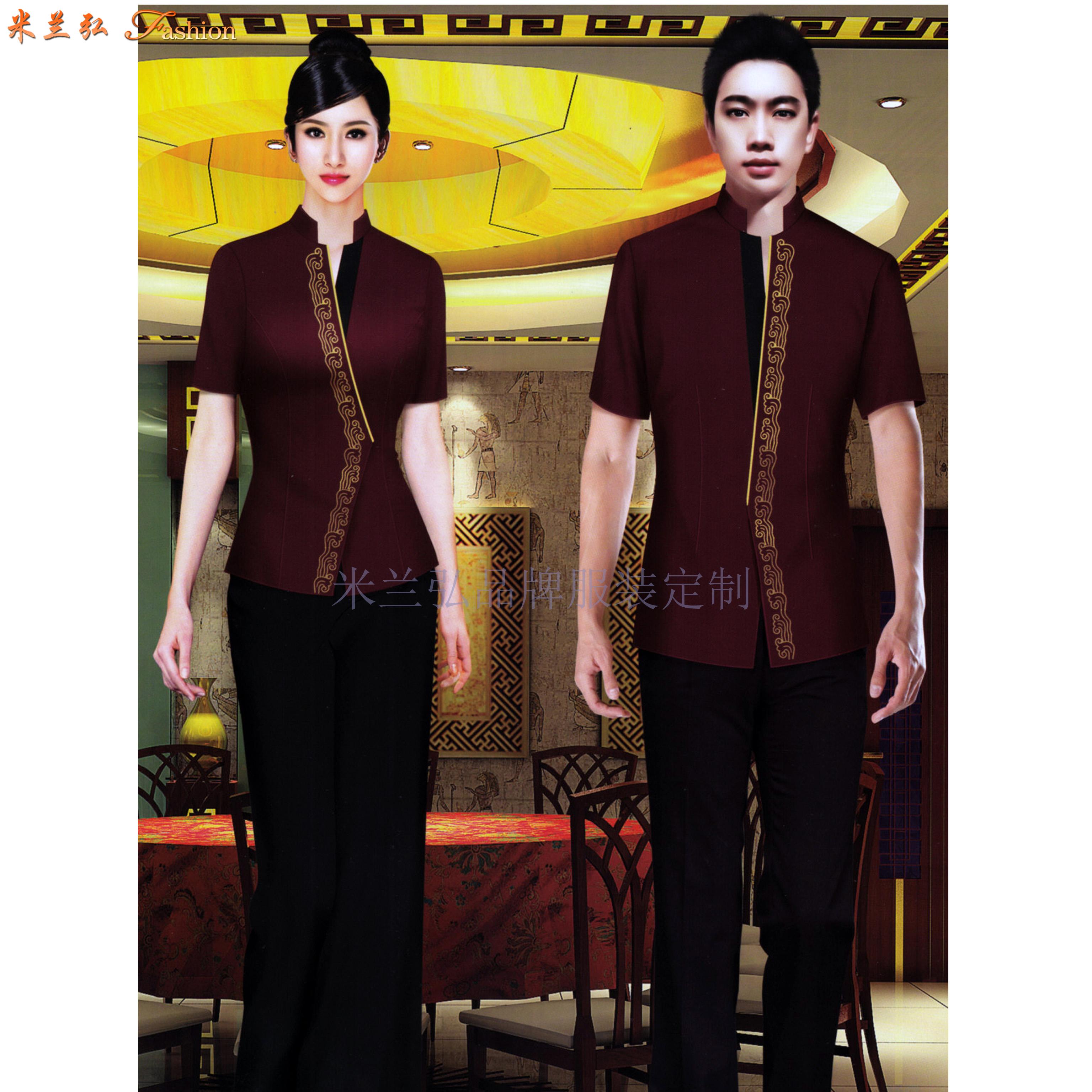 「廊坊酒店服裝定做」推薦設計制作五星酒店制服十年廠家-米蘭弘-5