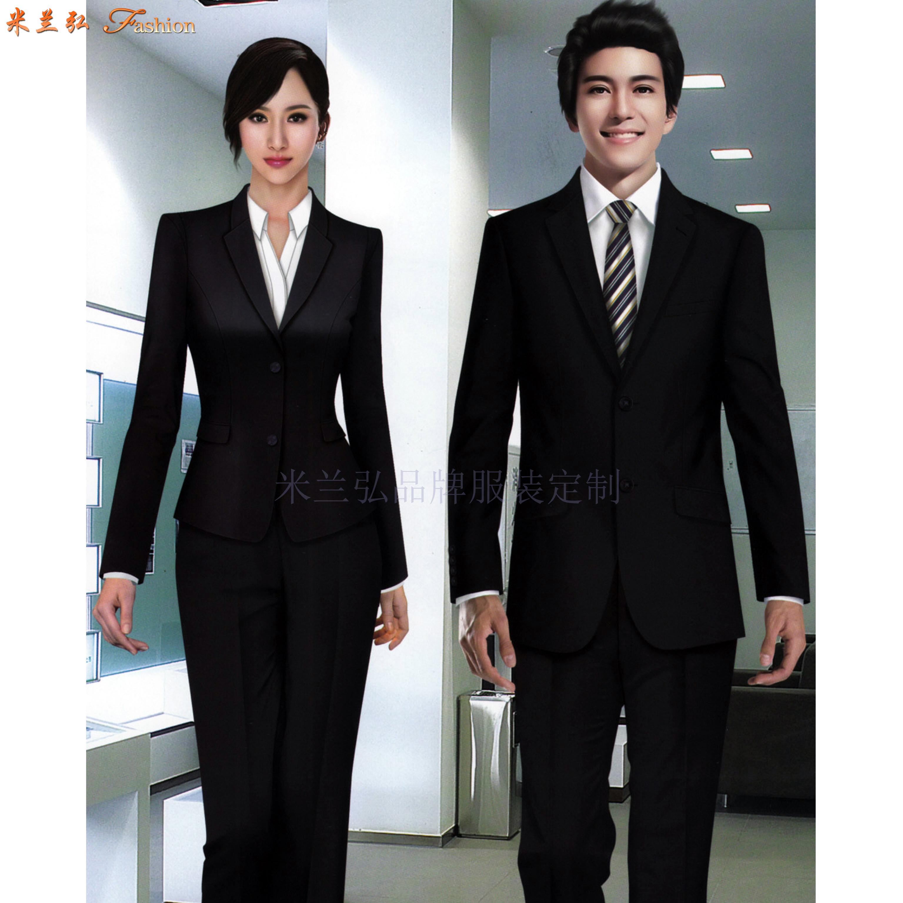 「北京商務西服定制公司」推薦誠信靠譜的米蘭弘品牌西服-4