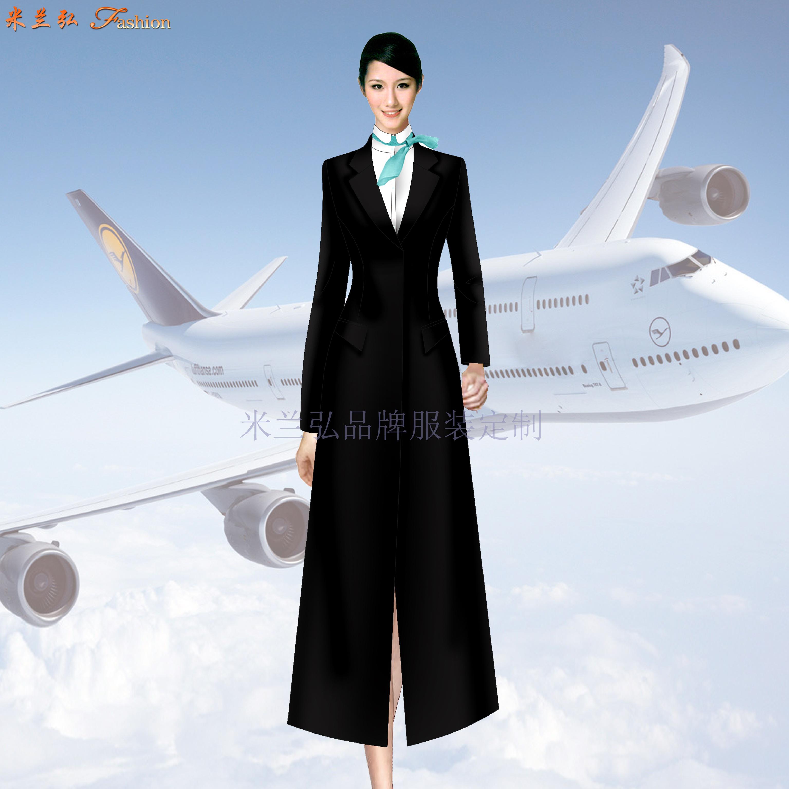「航空大衣定制」「空姐羊毛大衣定做」「航空機長大衣訂制」-2