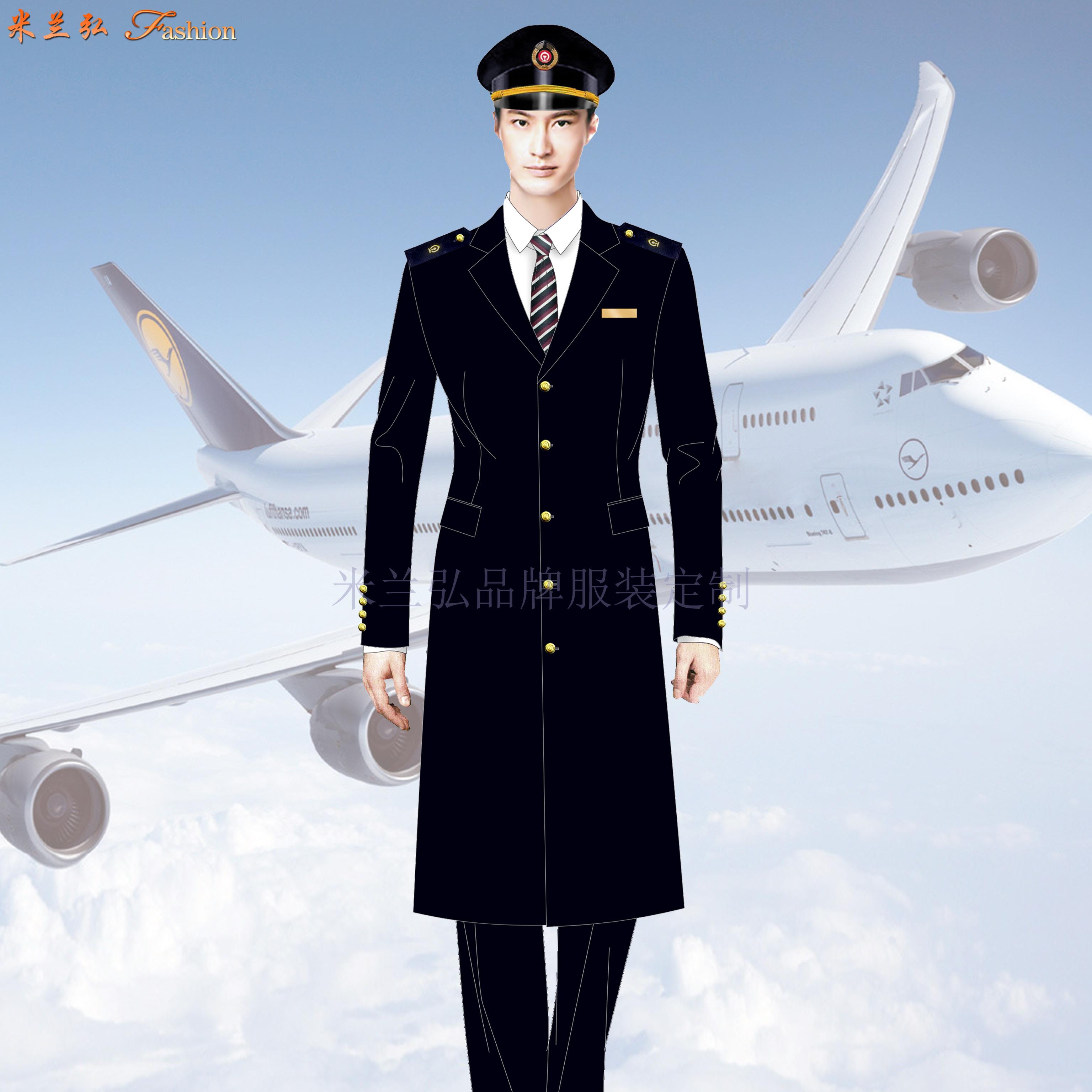 「航空大衣定制」「空姐羊毛大衣定做」「航空機長大衣訂制」-3