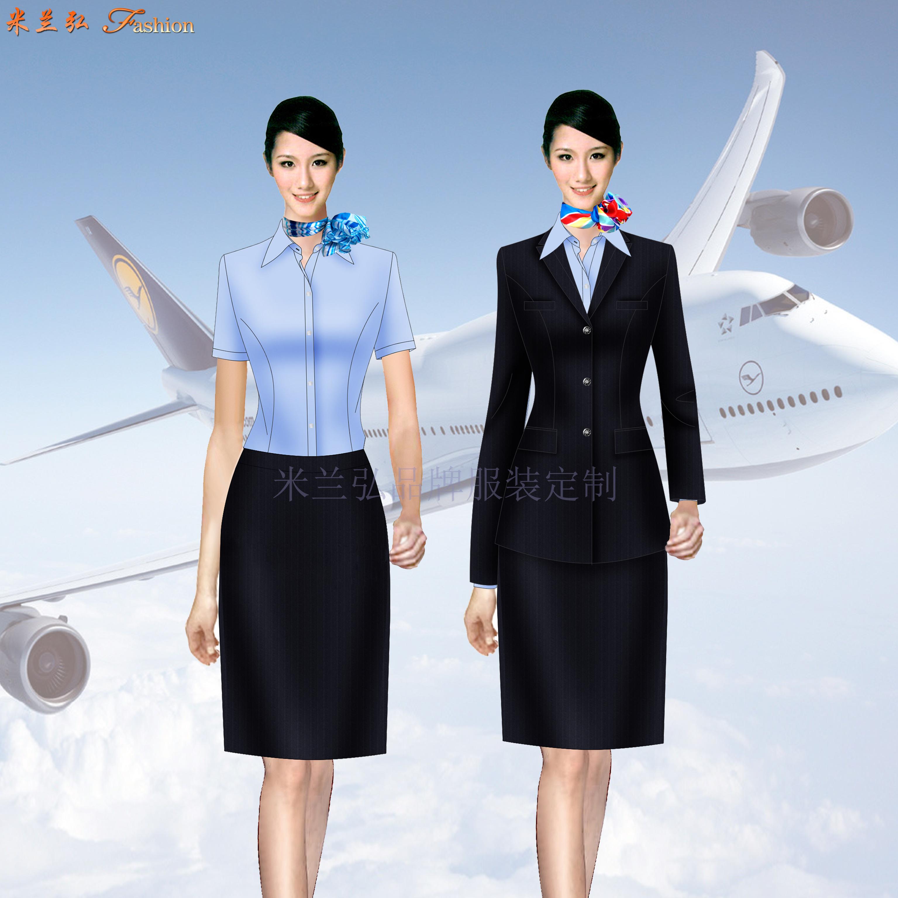 「機場地勤服裝定制」「值機工作服定做」「機場客服職業裝訂制」-4