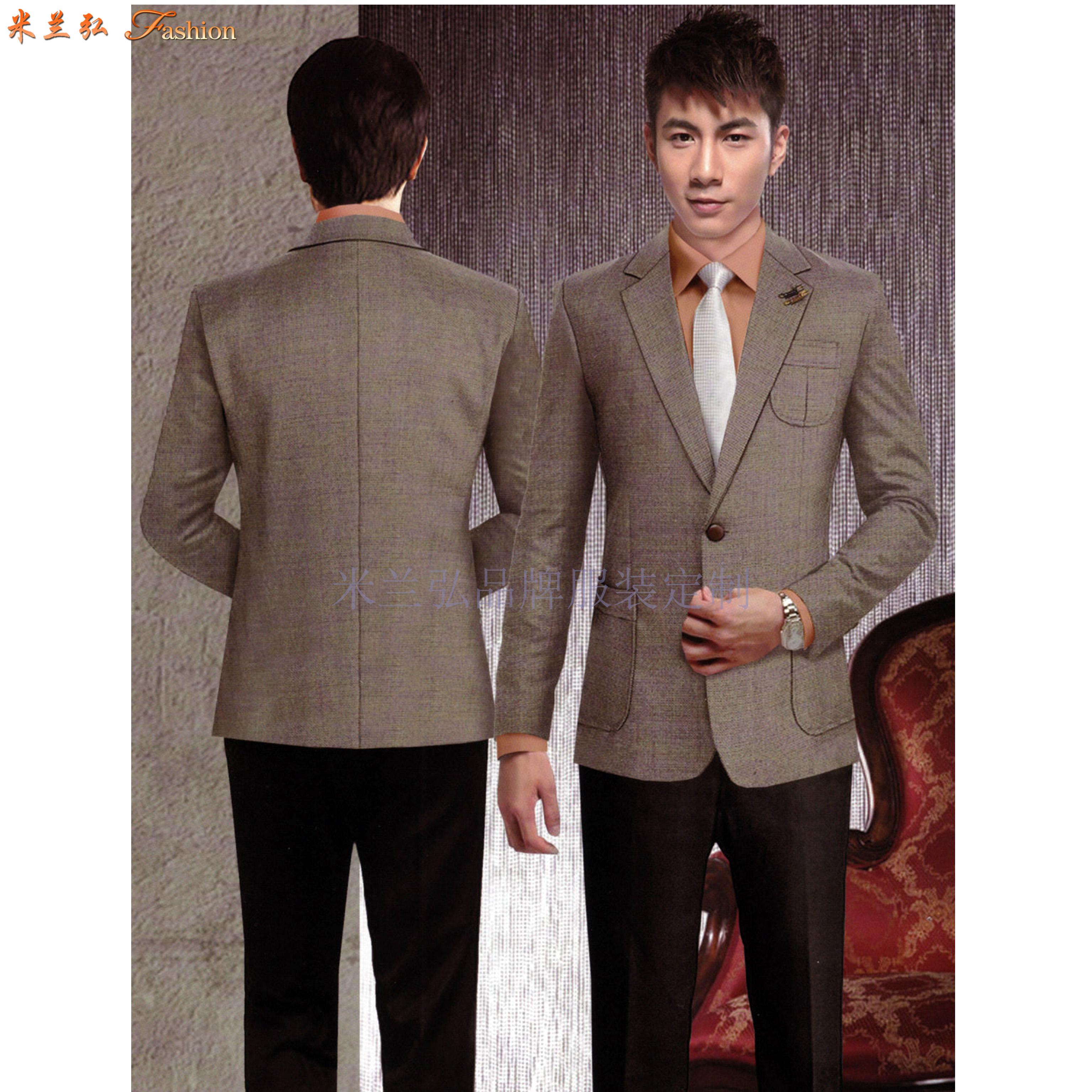 「北京工作西服定做廠家」選擇免費上門量體米蘭弘服裝公司-2