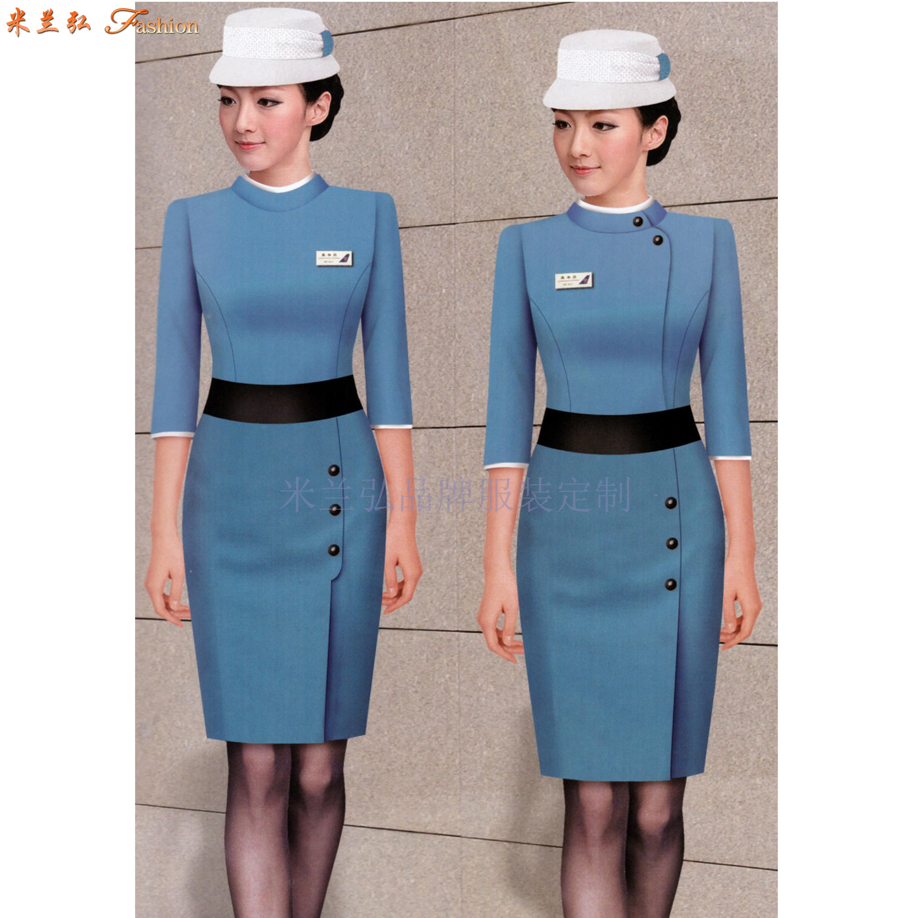 「工作服連衣裙定制」北京連衣裙量身訂制廠家-米蘭弘服裝-2