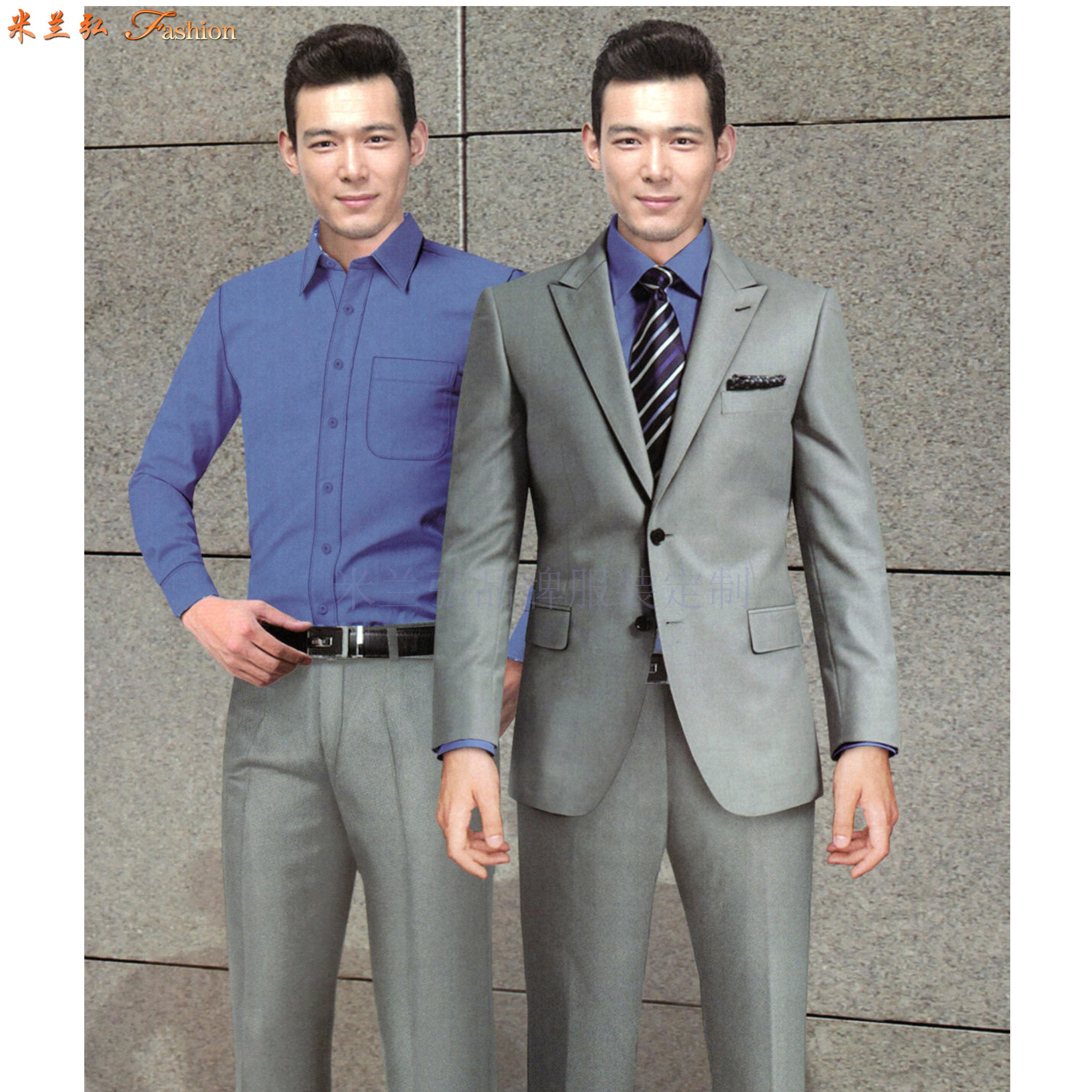 「北京正裝定制」「北京正裝訂做」推薦西裝革履米蘭弘品牌服裝-5