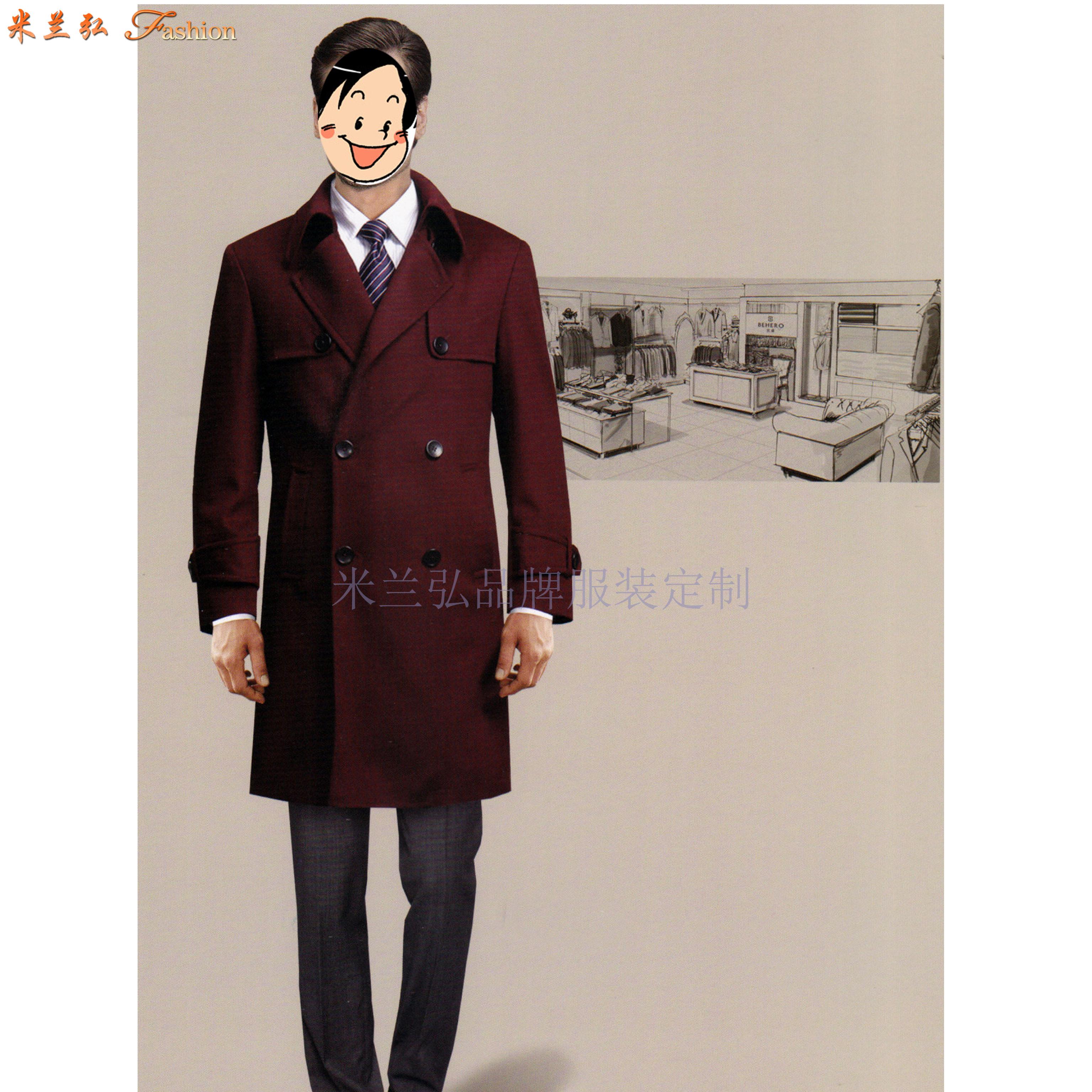 「德州大衣定制」「德州大衣訂做」推薦厚實暖和米蘭弘服裝-1