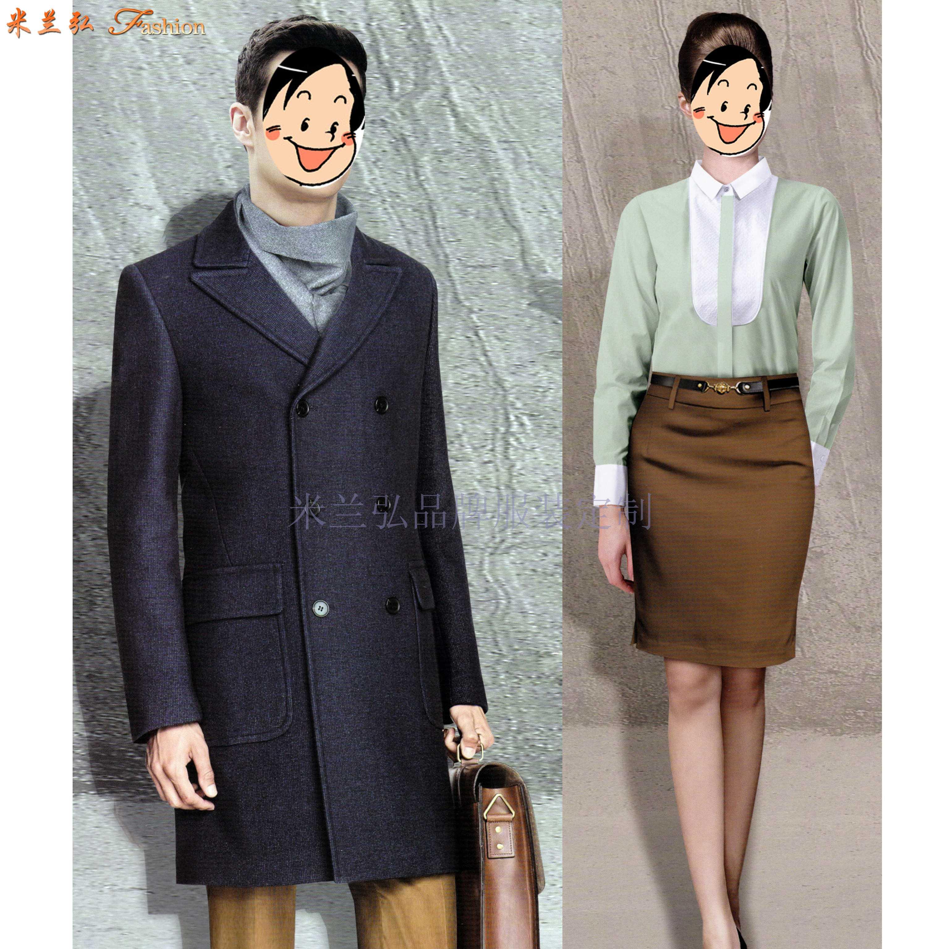 「德州大衣定制」「德州大衣訂做」推薦厚實暖和米蘭弘服裝-3