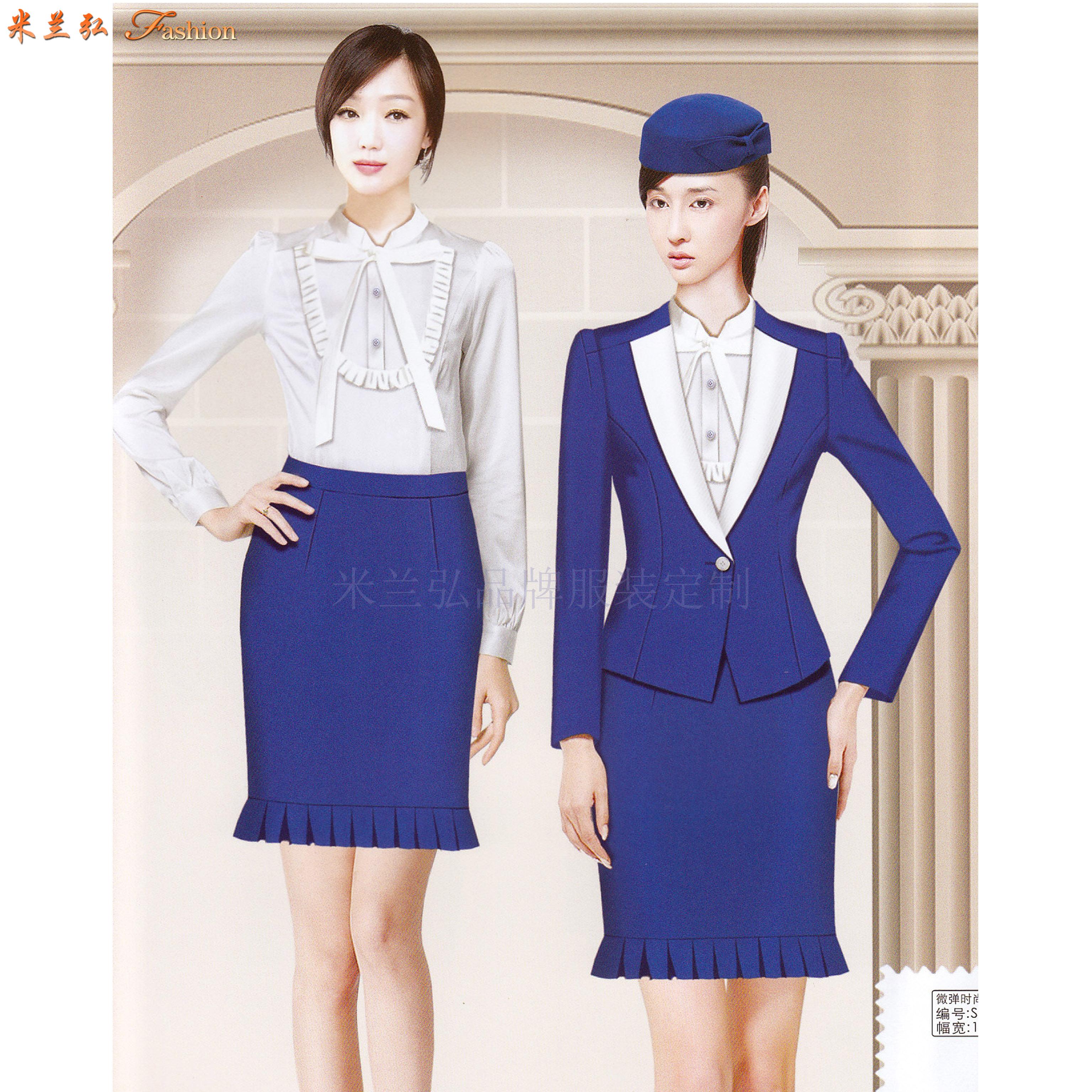 「德州空姐服定製」「德州空乘服訂做」推薦式樣時髦永利注册网站服裝-5