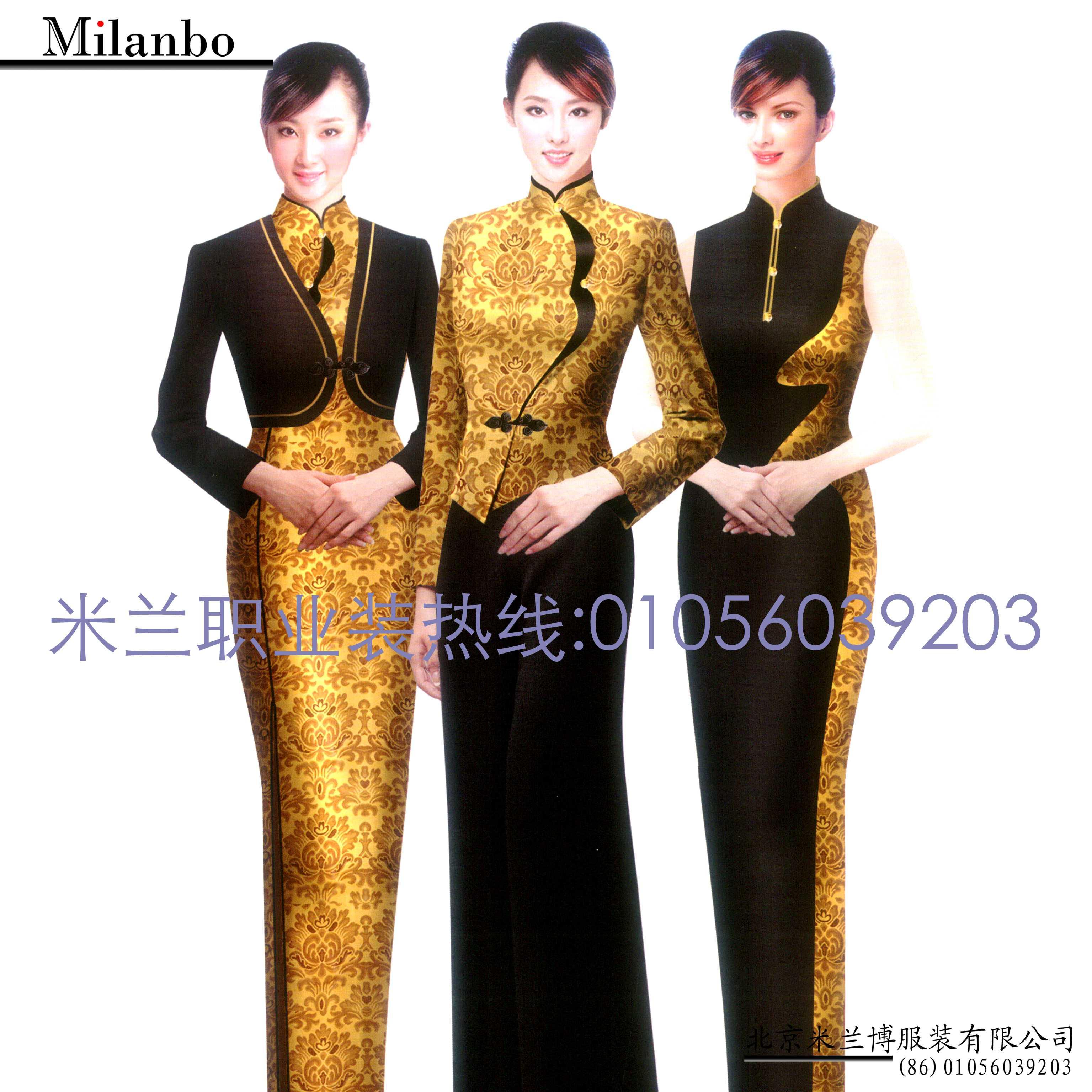 「中式旗袍定制」「古典旗袍订制」-米兰弘品牌服装-4