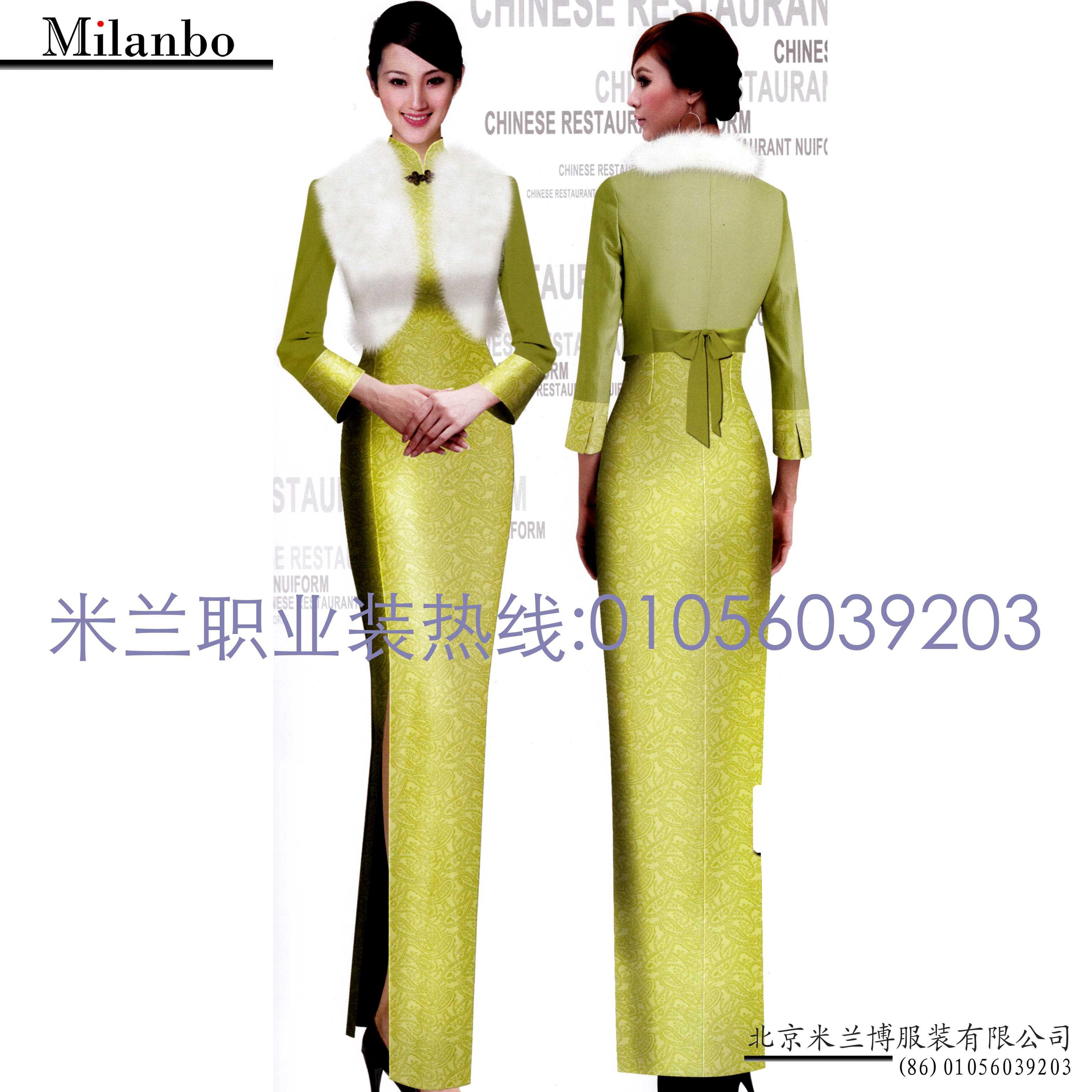 「中式旗袍定制」「古典旗袍订制」-米兰弘品牌服装-5