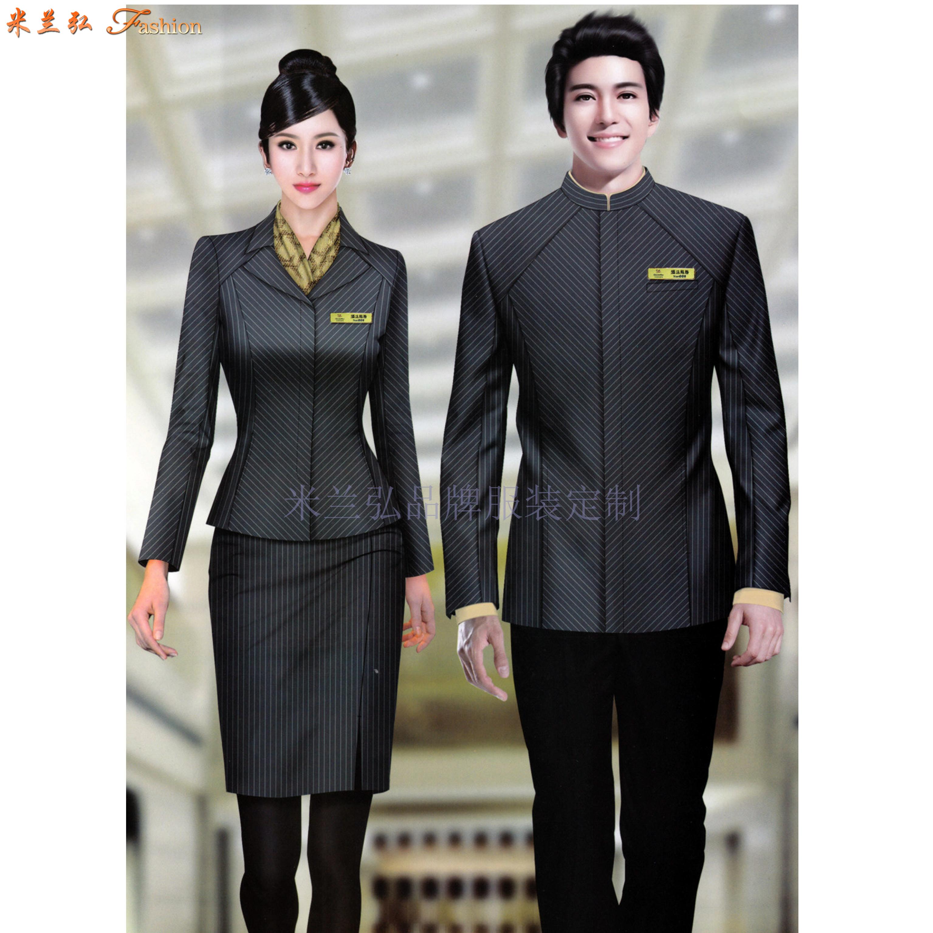 「濟南酒店制服定做」「濟南酒店工作服訂制」推薦米蘭弘服裝-3