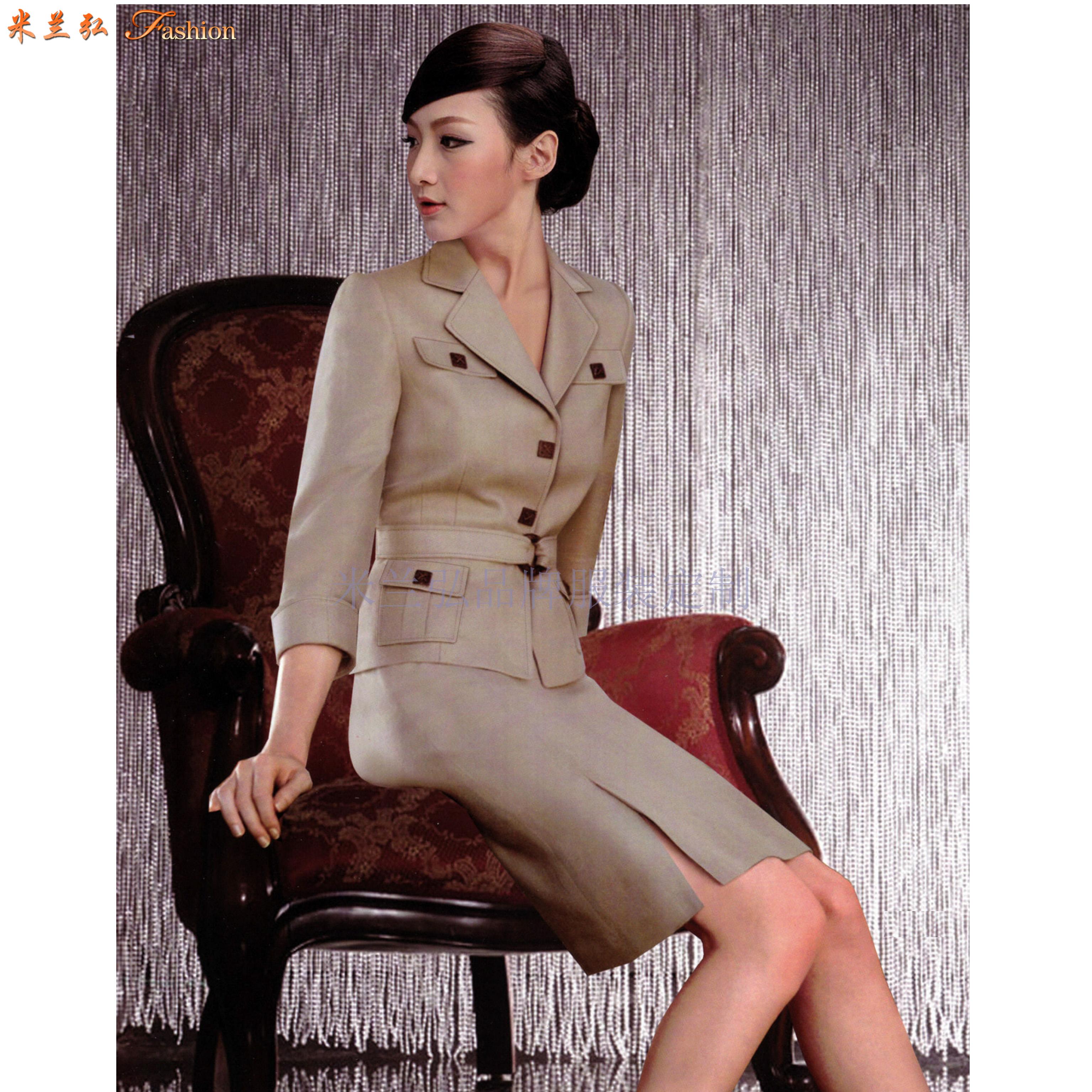 「職業裝」北京量身定制訂做通勤職業裝的靠譜公司-米蘭弘服裝-4