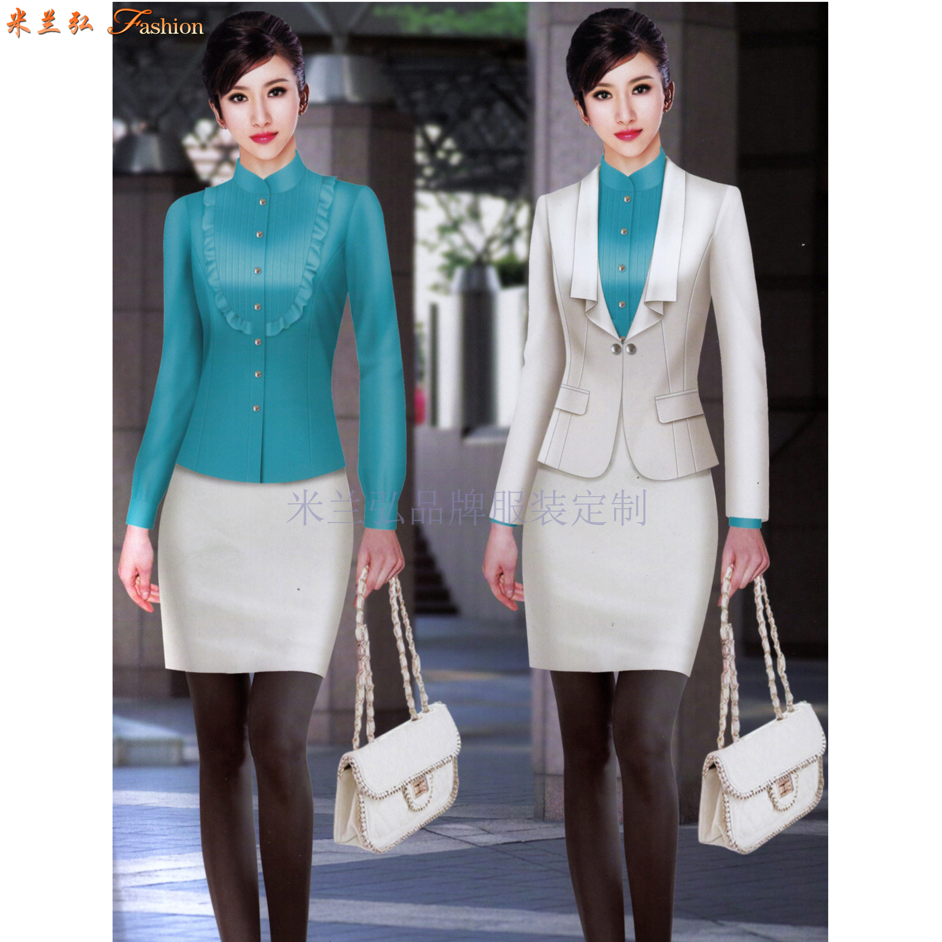 「職業裝」北京量身定制訂做通勤職業裝的靠譜公司-米蘭弘服裝-5