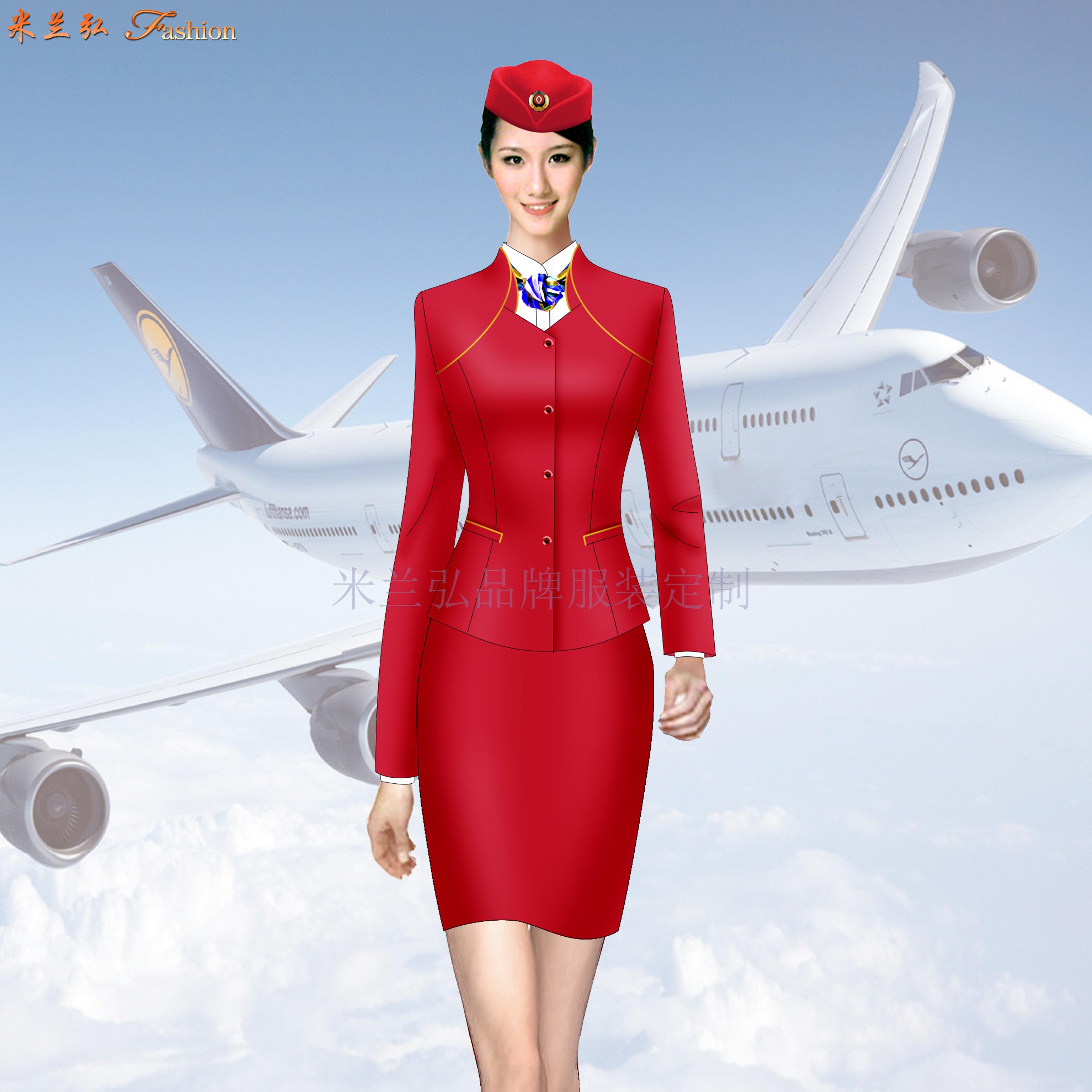 「空姐服」北京量體定制訂做潮流空姐服的誠信公司-米蘭弘服裝-3