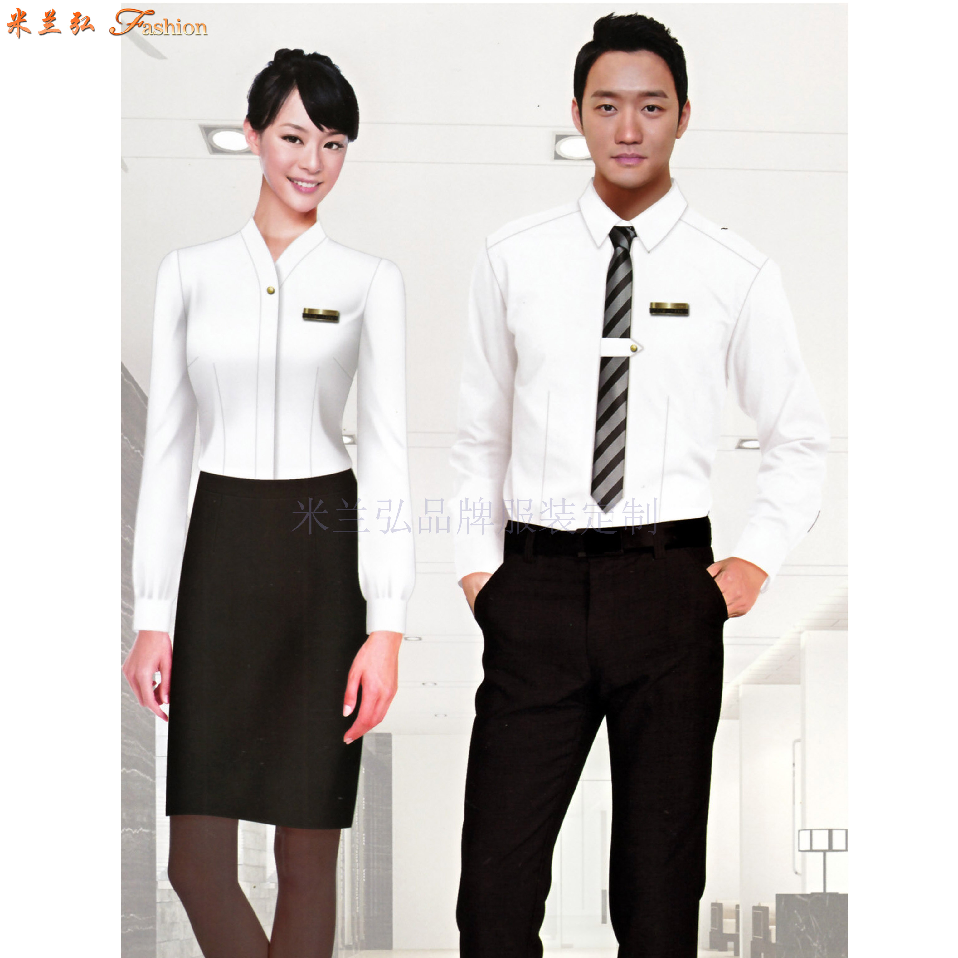 「衬衫」北京量体定制订做免熨商务衬衫的专业厂家-米兰弘服装-2