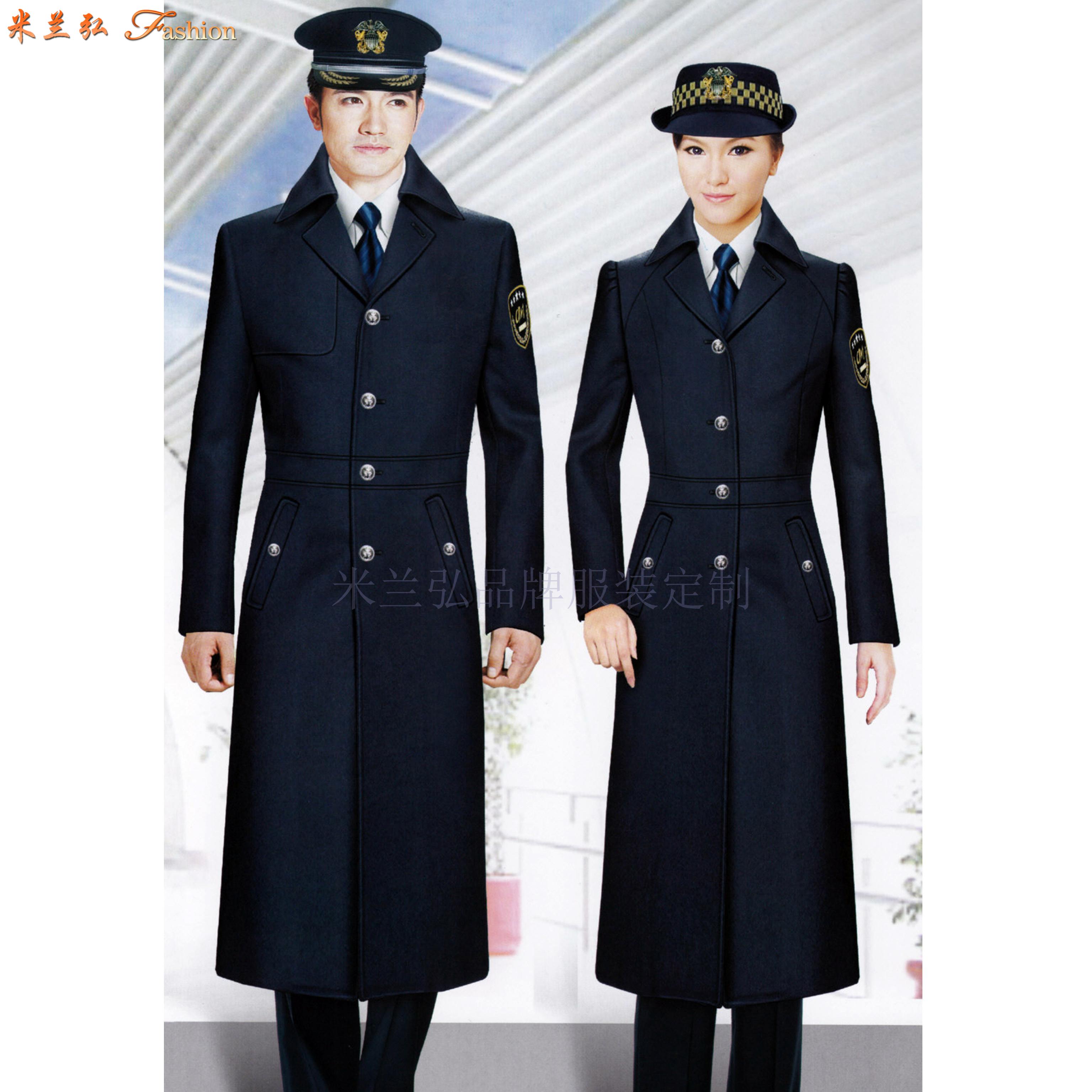 「高铁大衣」量体定做高铁乘务员男女保暖羊毛大衣-米兰弘服装-1